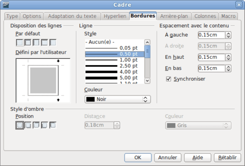 comment inserer photo pour cv avec open office