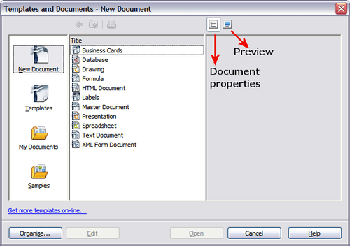 how to open word templates