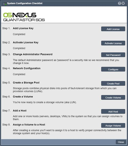 Storage System Checklist - OSNEXUS Wiki