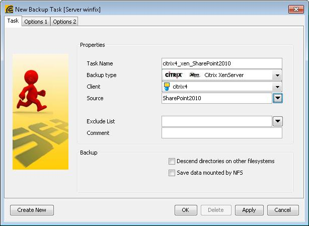 4 4 3Citrix XenServer Backup - SEPsesam
