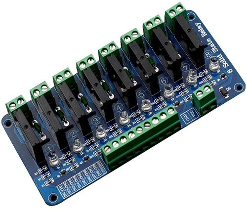 8 Channel 5V Solid State Relay Module - Wiki