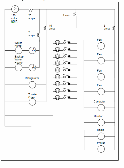 wiring diagram for house wiring