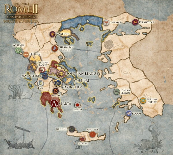 Total War Shogun 2 Fall Of The Samurai Wallpaper Hd Wrath Of Sparta Campaign Pack Total War Wiki