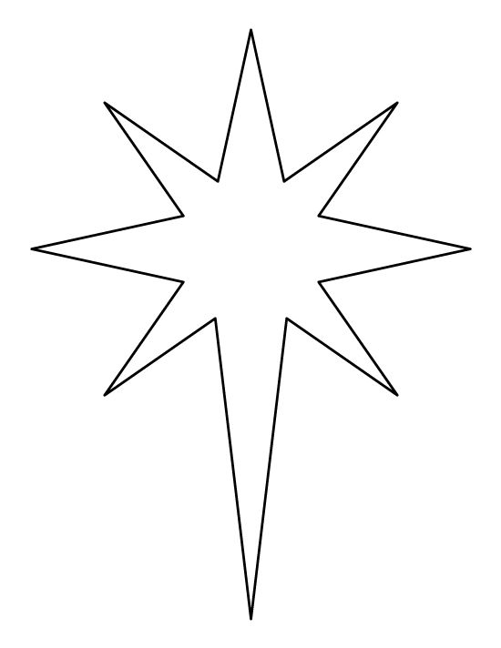 Star outline images 0 ideas about star template on applique patterns - star template