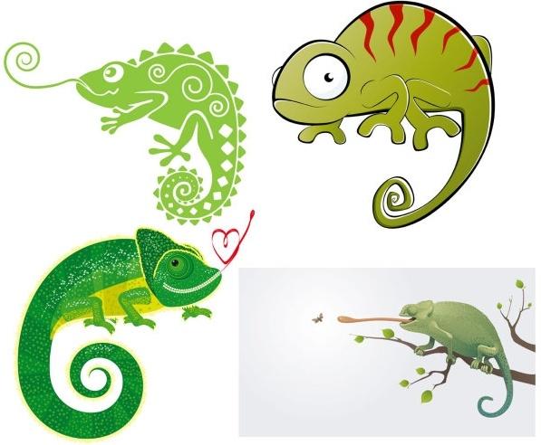 Chameleon vector free in encapsulated postscript clip art - WikiClipArt