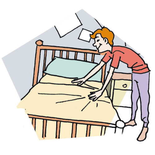 Make bed learn a woodworking clip art - WikiClipArt