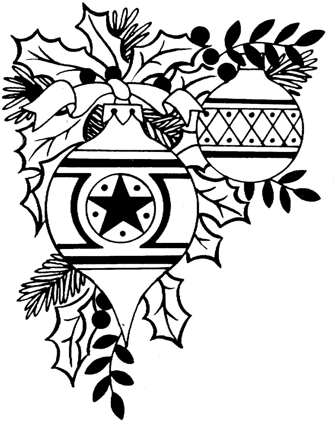 Christmas Ornament Clip Art Black And White Christmas Ornament Black And White Christmas Ornaments