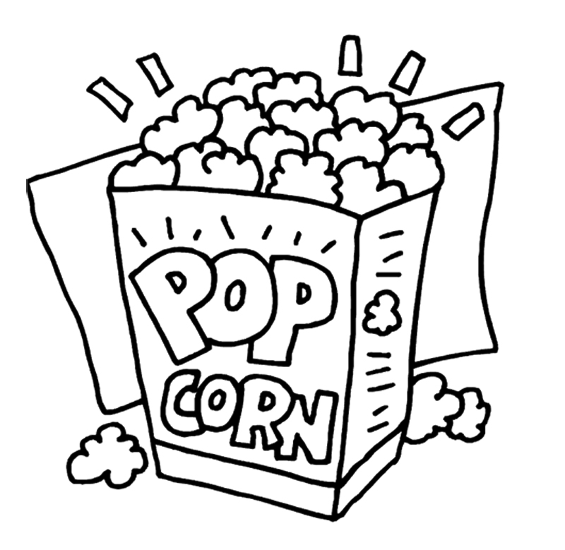 Popcorn Kernel Clipart - 63 cliparts