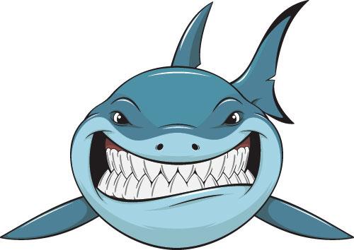 Shark fin free vector in encapsulated postscript clip art - WikiClipArt