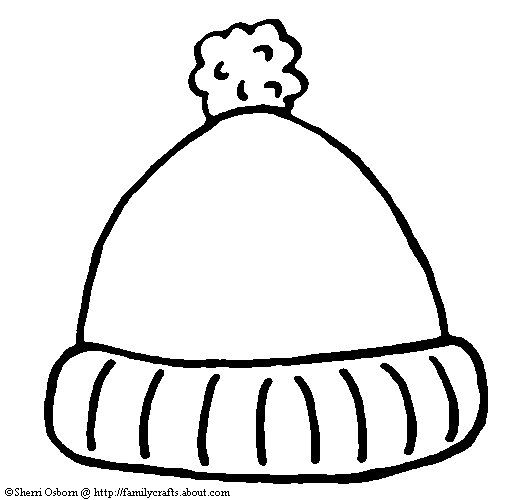 Winter hat hat template ideas on pirate hat crafts clipart - WikiClipArt