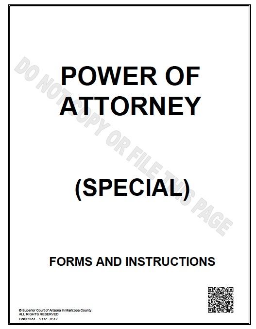 Download Arizona Power of Attorney Forms and Templates wikiDownload - simple power of attorney form example