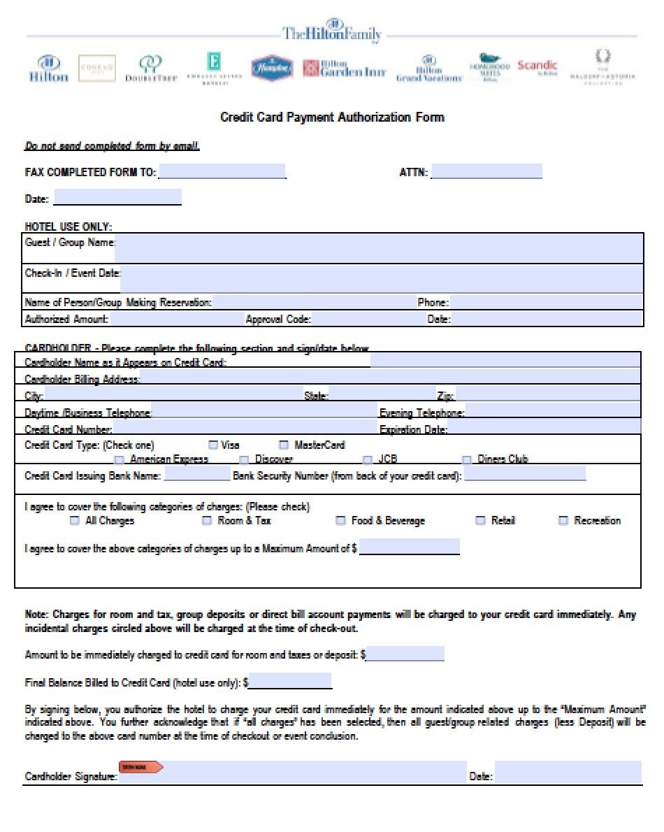 credit card authorization form what is professional resume cover credit card authorization form what is credit card authorization form hilton hilton credit card authorization
