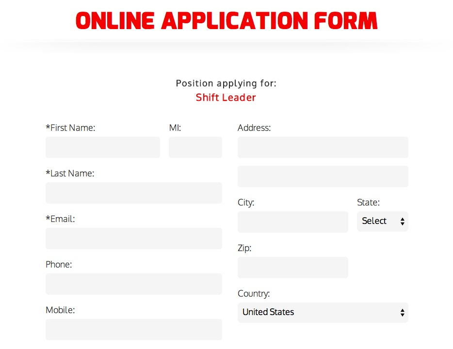 Download Krystal Burgers Job Application Form Adobe PDF wikiDownload