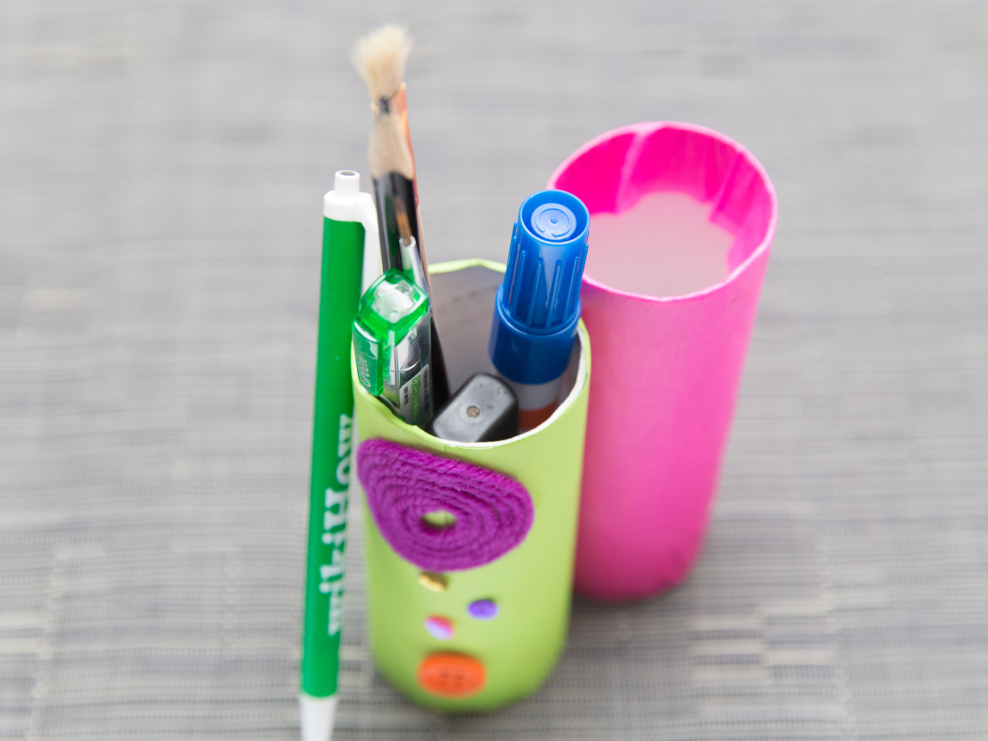 Homemade Pencil Holders How To Make A Pencil Holder 13 Steps With Pictures Wikihow
