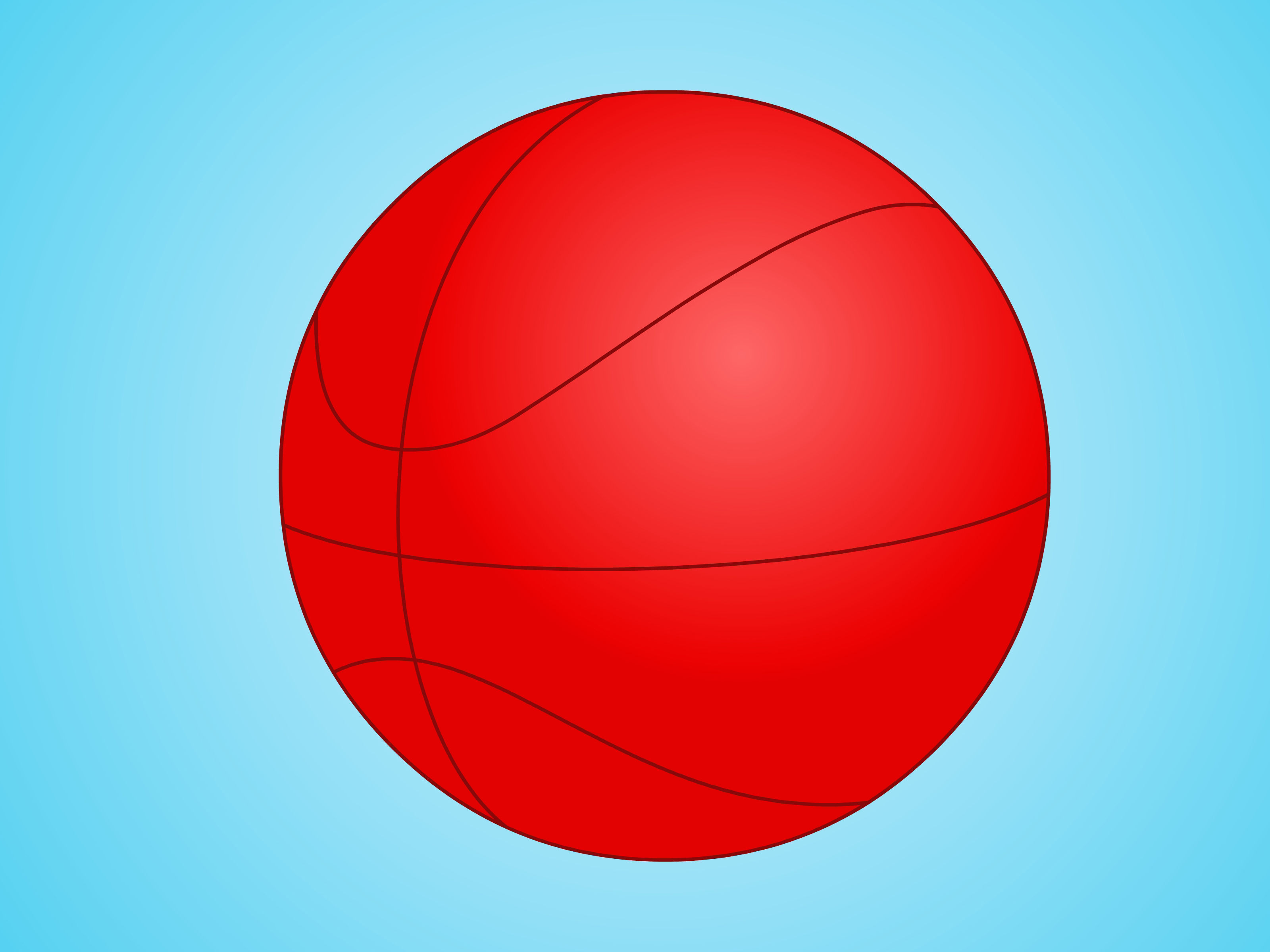 Basketball Ball How To Draw A Basketball 12 Steps With Pictures Wikihow