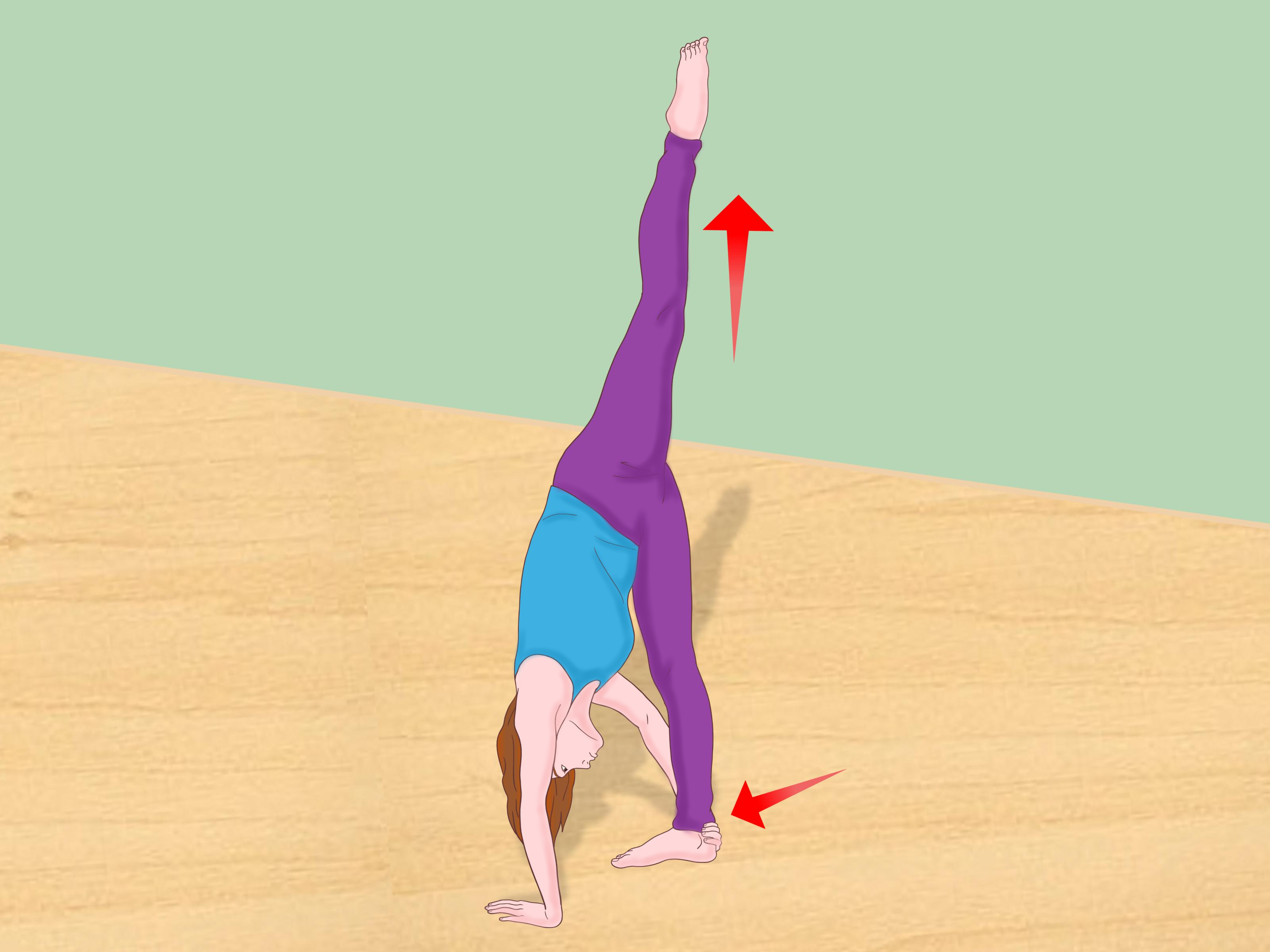 Split Wit 3 Ways To Do A Standing Split Wikihow