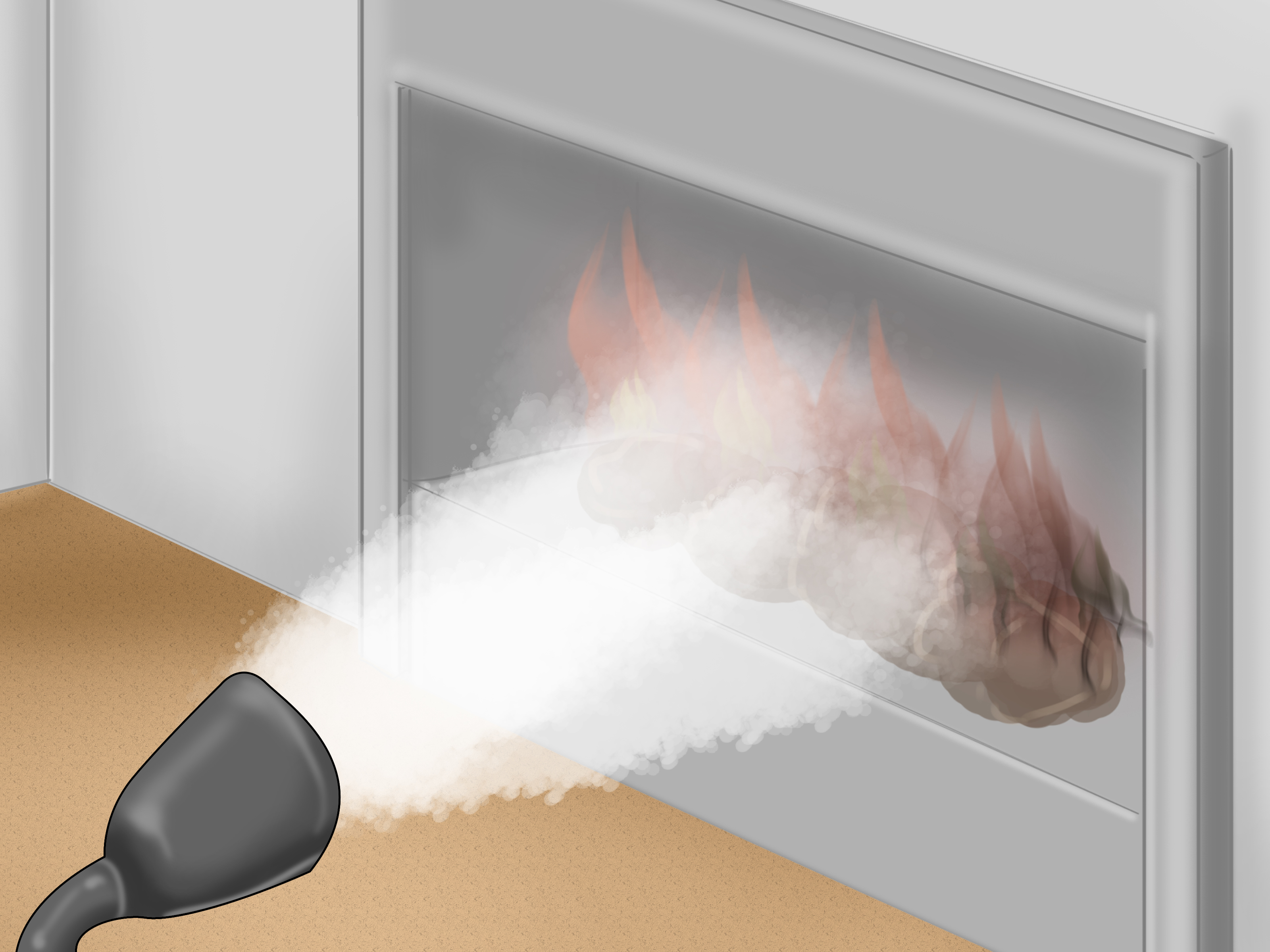 How To Operate A Fireplace How To Safely Use An Ethanol Fireplace 5 Steps With Pictures