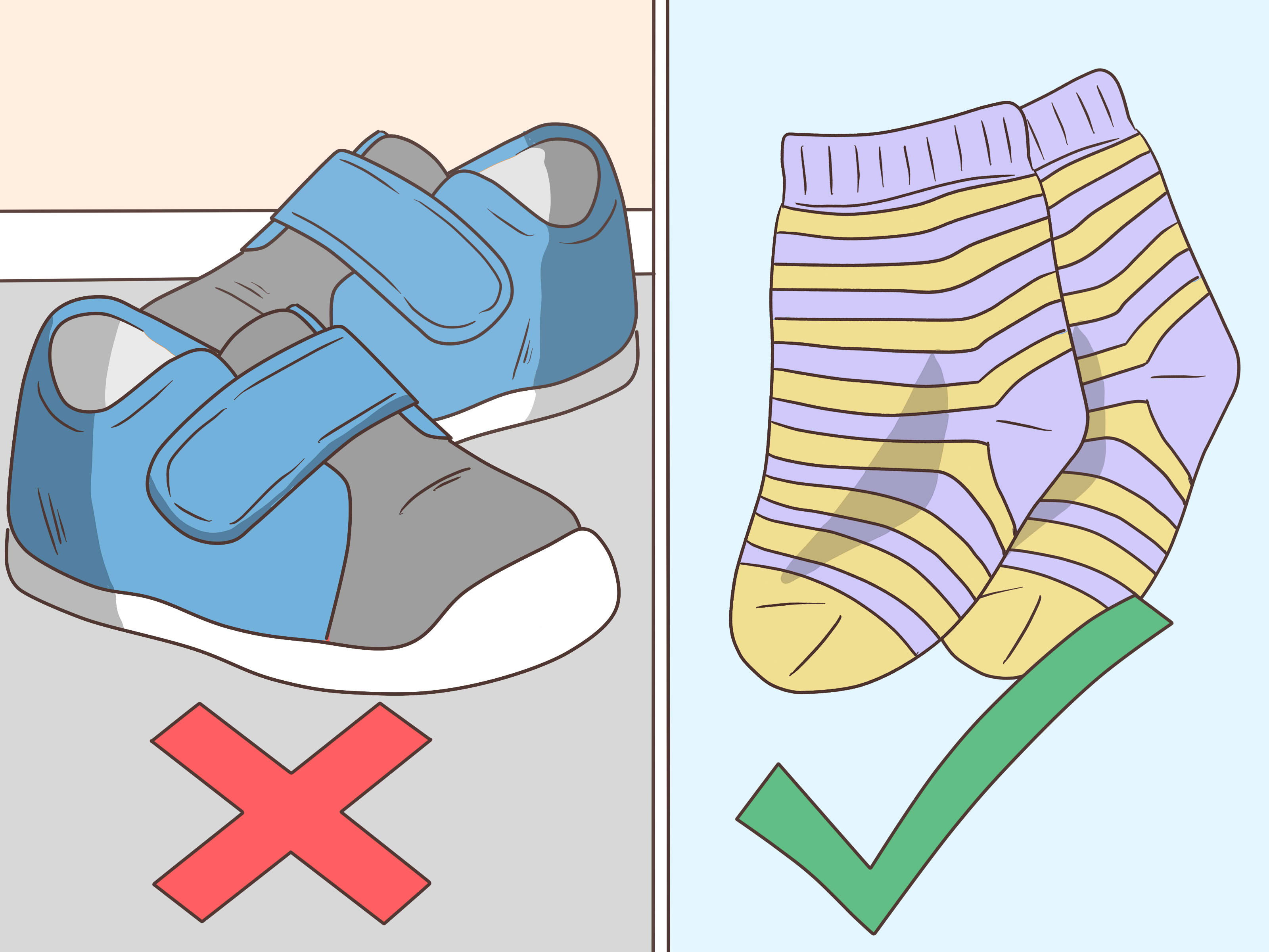 Newborn Elastic Shoes How To Avoid Losing Baby Shoes 7 Steps With Pictures