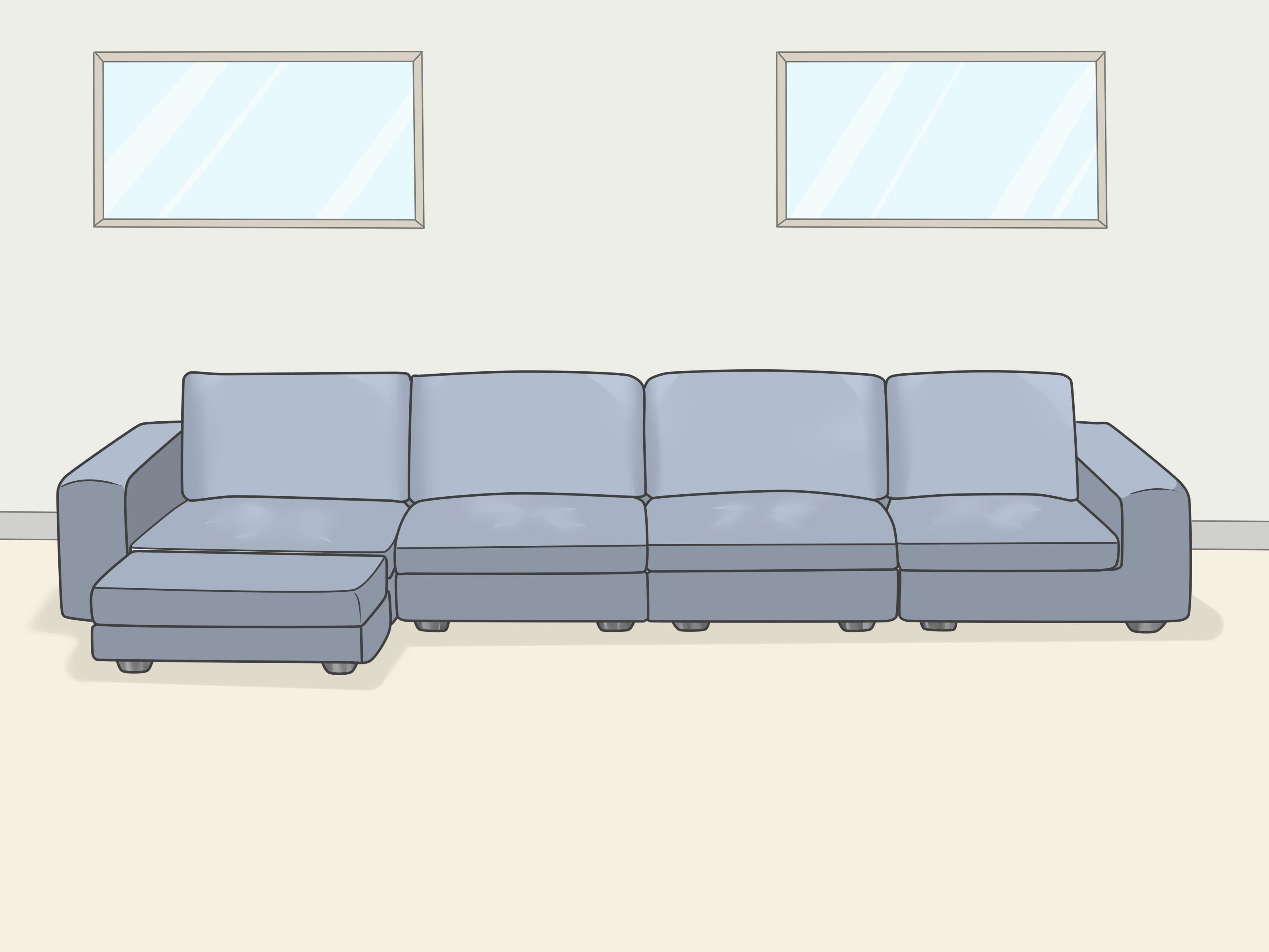 How To Separate A Sectional Sofa 9 Steps With Pictures