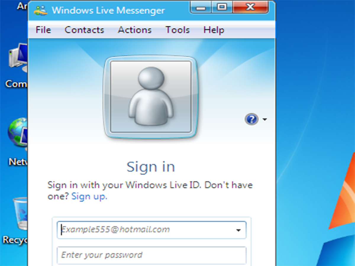 Window Live Messenger How To Avoid Windows Live Messenger 2011 11 Steps With