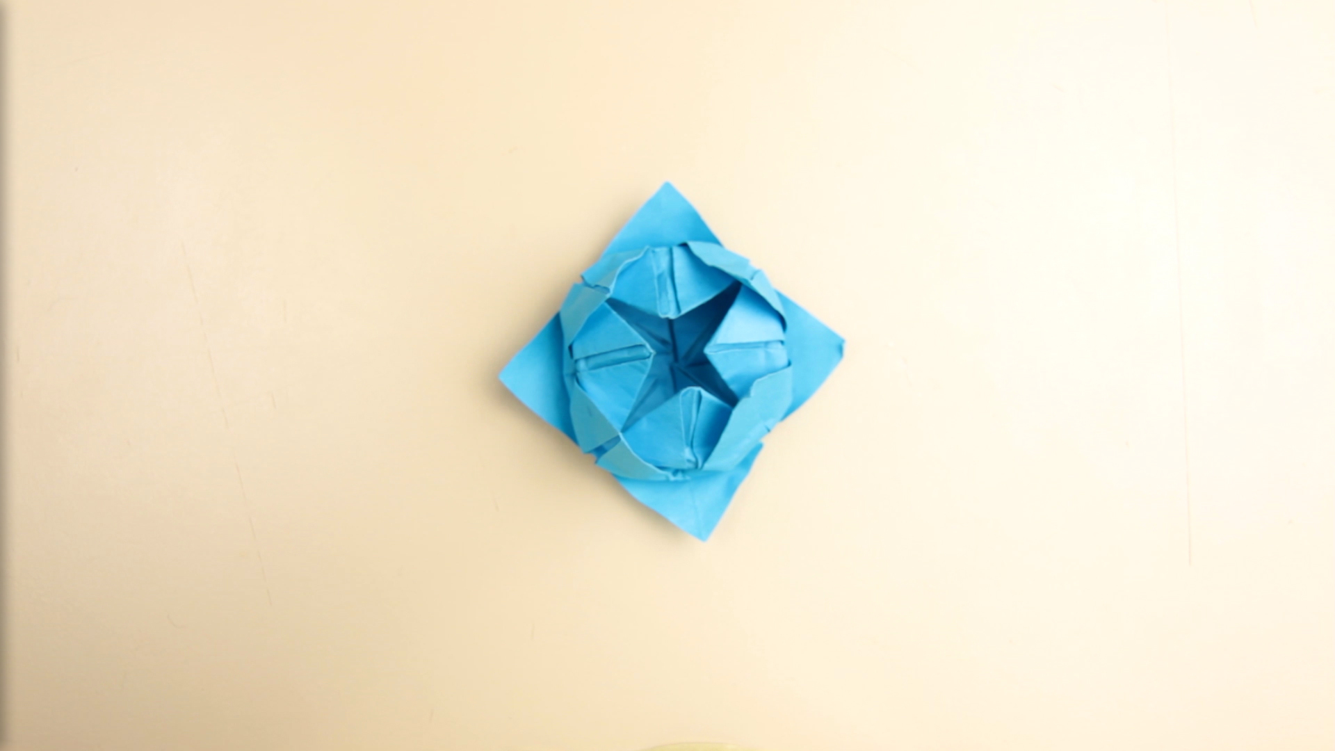 Origami Rose Falten How To Make A Simple Origami Lotus Flower 14 Steps