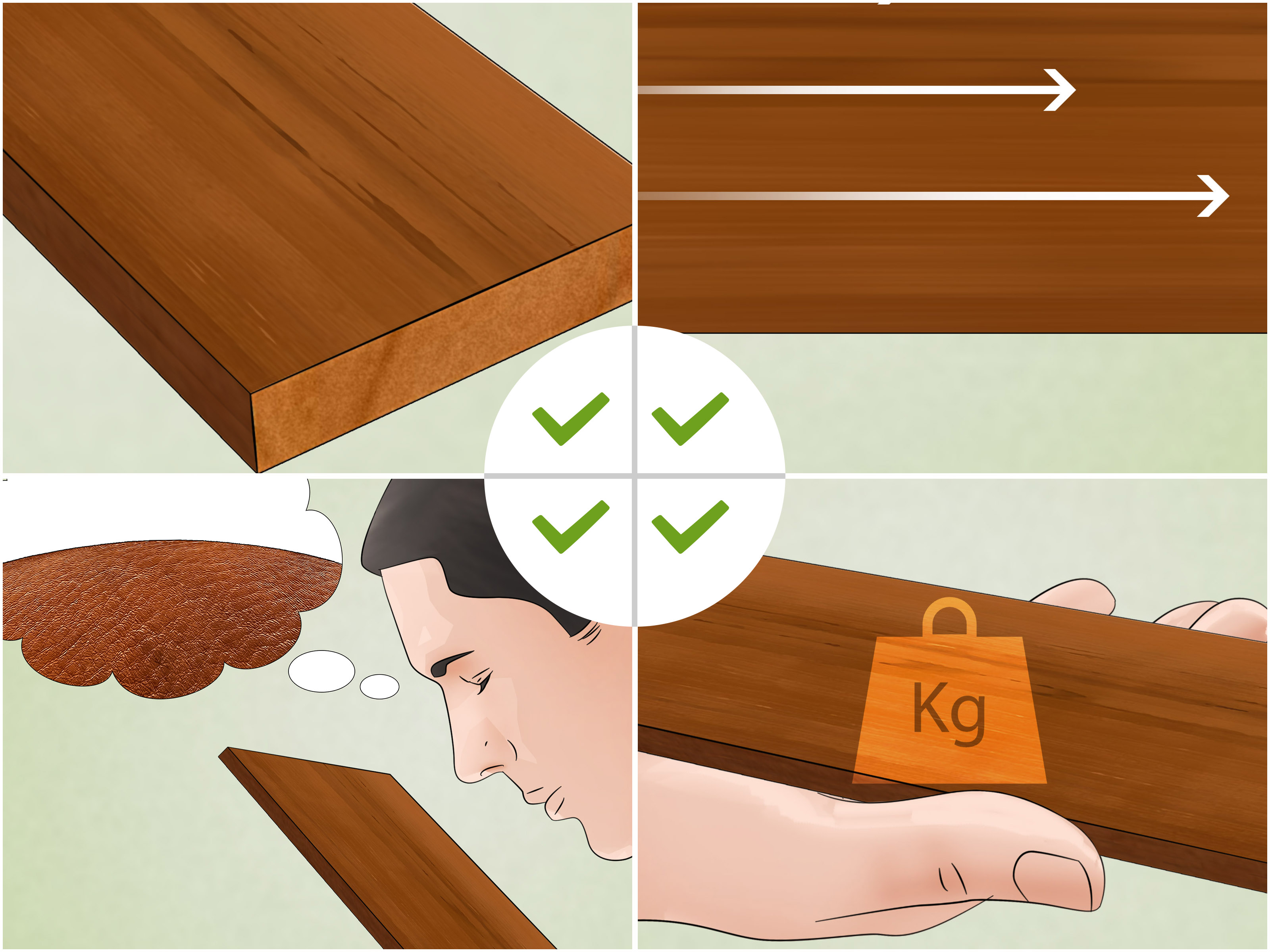 Teak Wandplank How To Identify Teak Wood 6 Steps With Pictures Wikihow