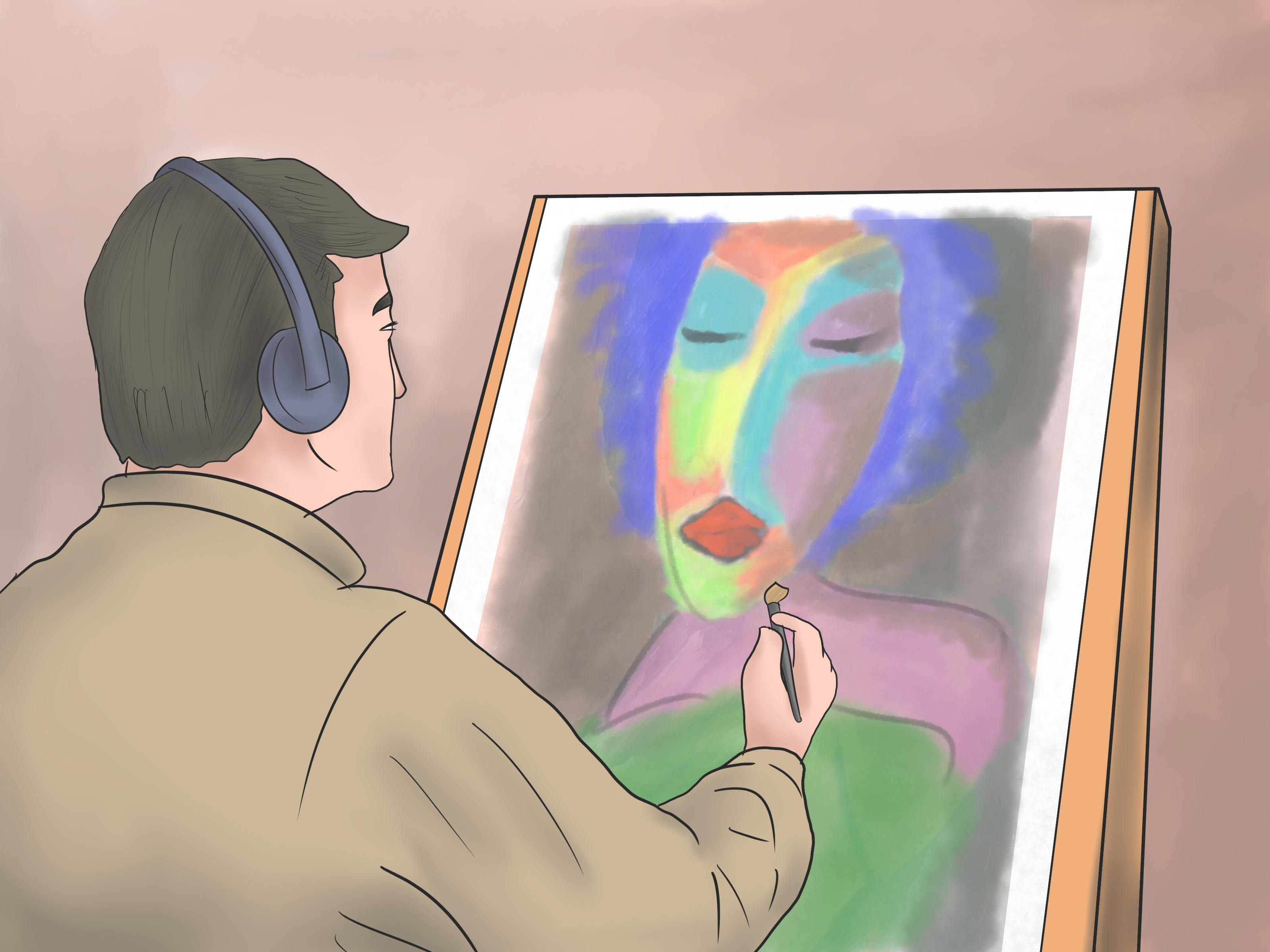 Empezar A Pintar Cuadros How To Paint A Picture With Pictures Wikihow