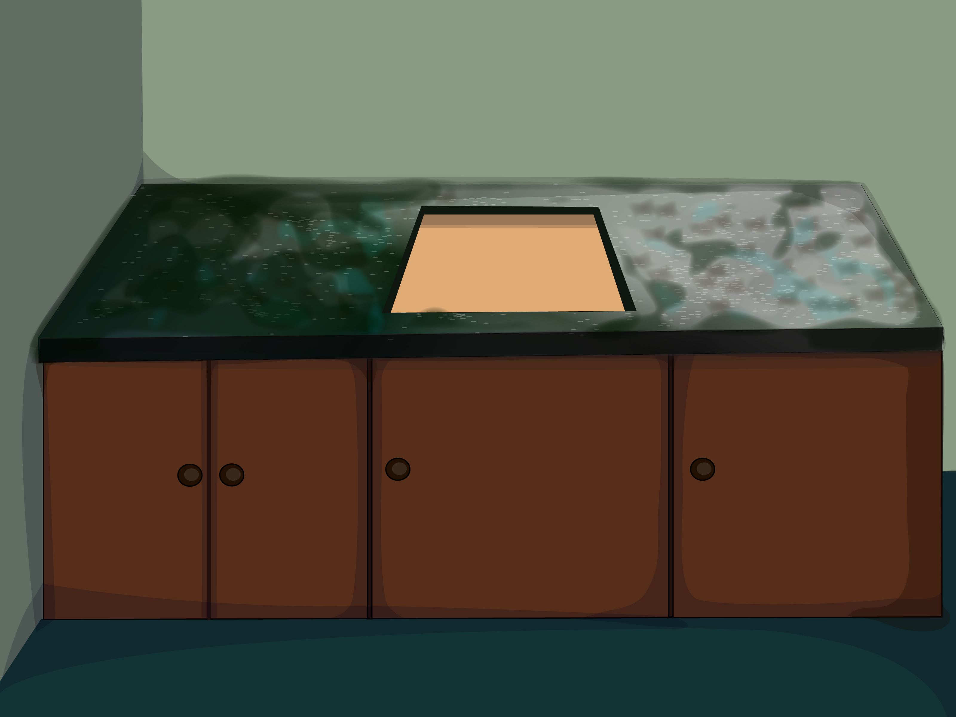 How To Grind Granite Countertops How To Install Granite Countertops 11 Steps Wikihow