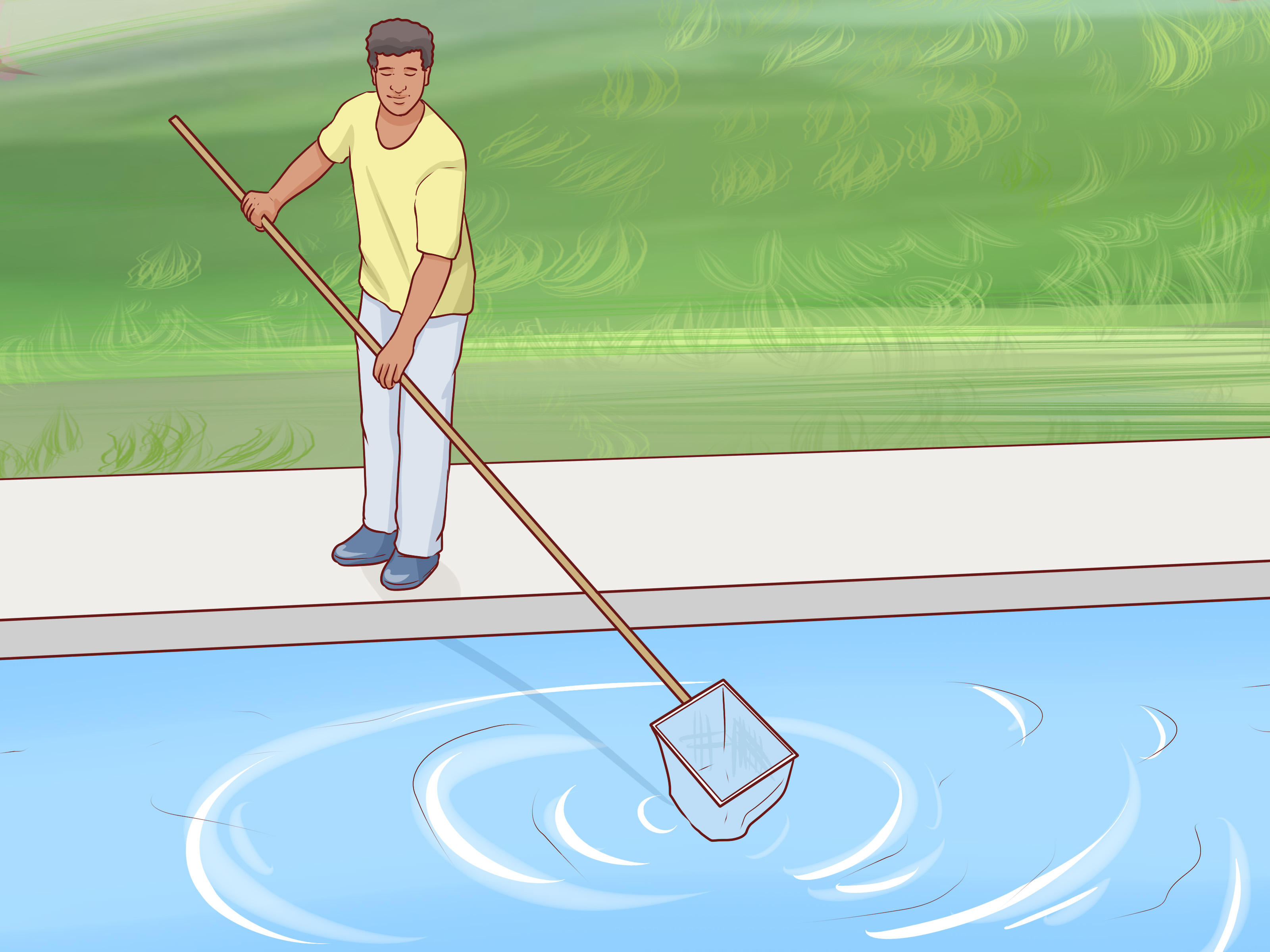 Pool Pumpenfilter Reinigen 3 Ways To Clean A Vinyl Pool Liner Wikihow