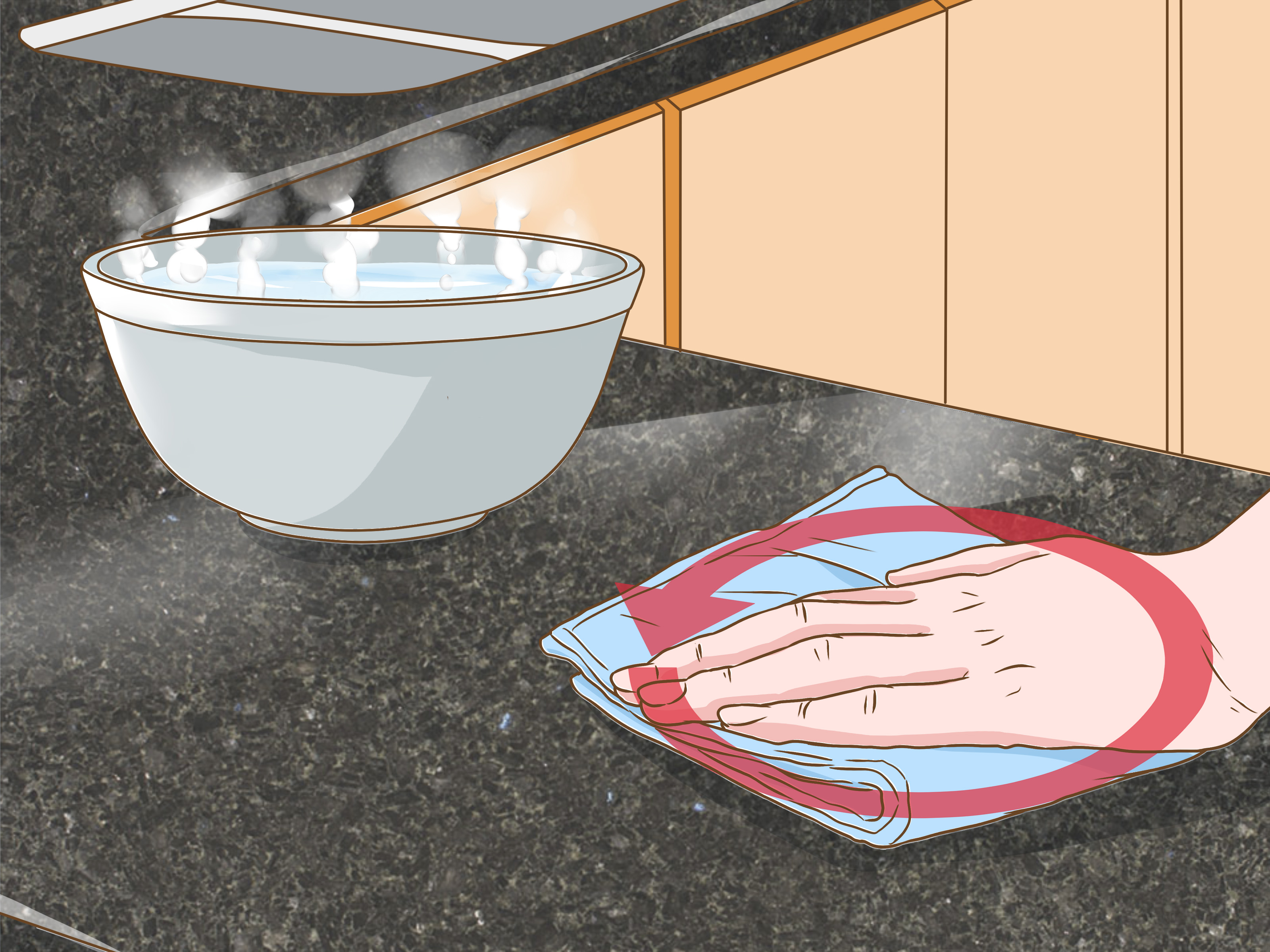 Quartz Countertops Cleaning 4 Ways To Clean Quartz Countertops Wikihow
