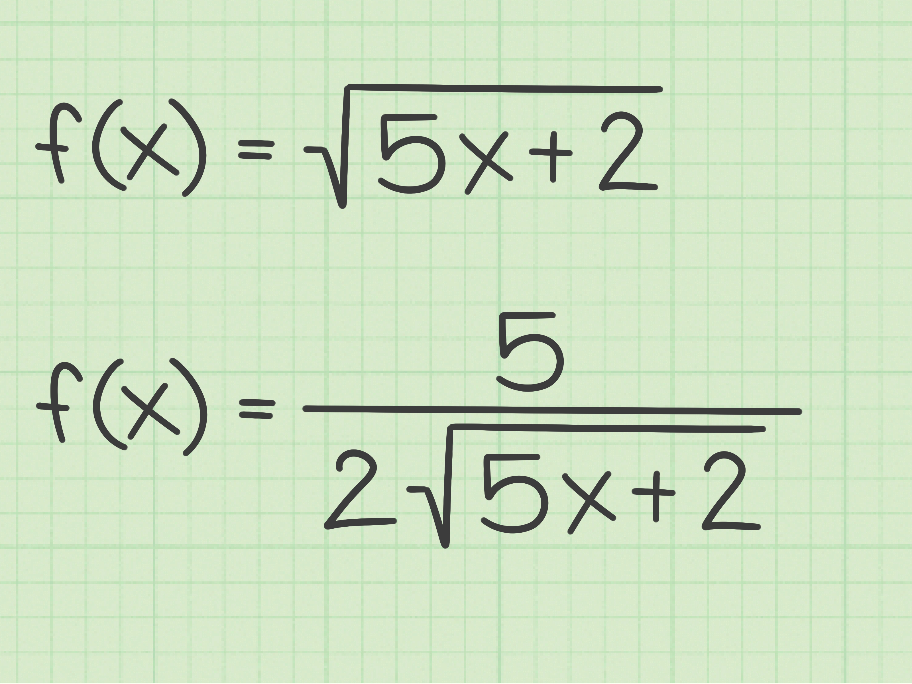 Derivada De La Raiz Cuadrada 3 Ways To Differentiate The Square Root Of X Wikihow