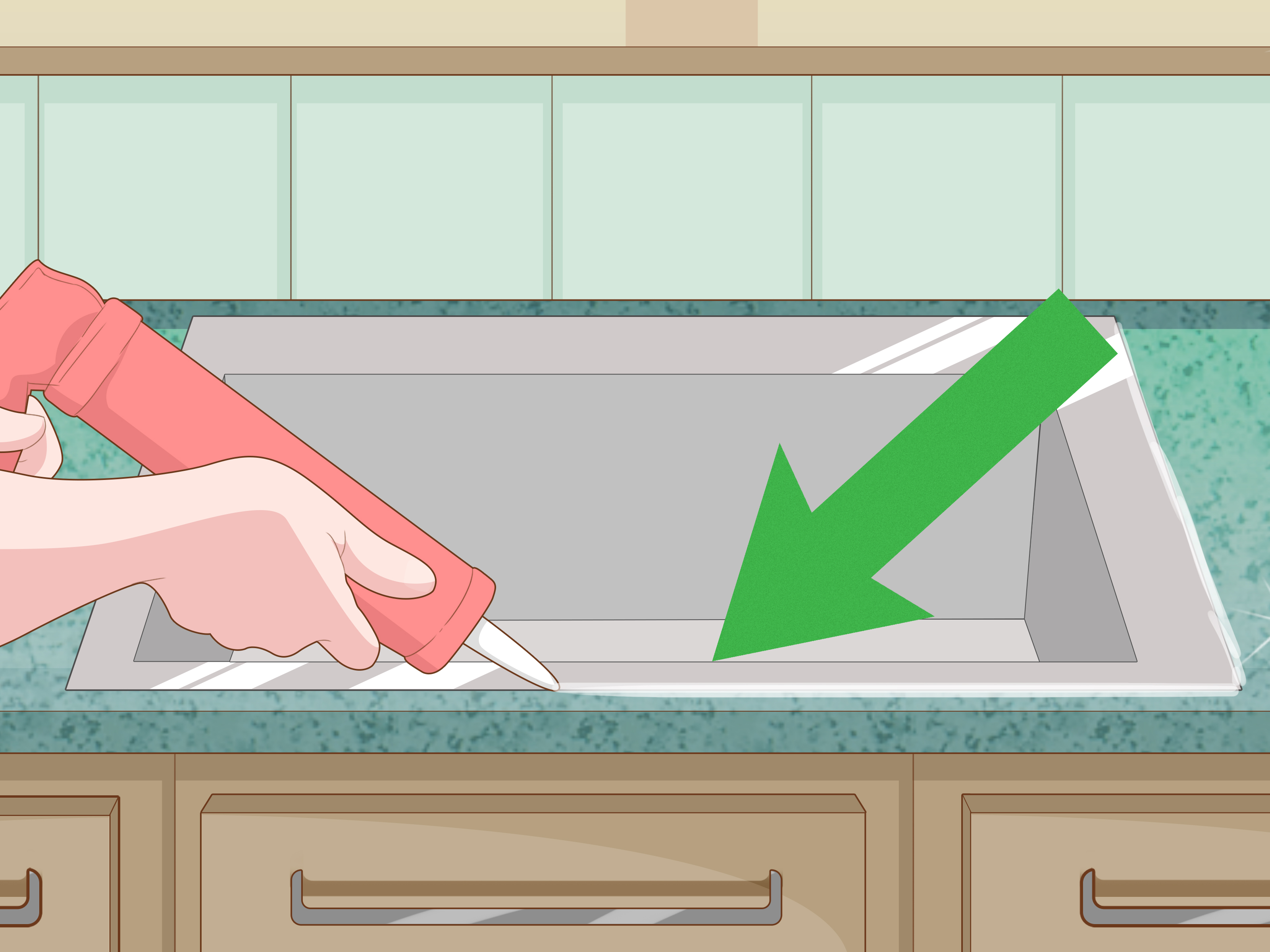 Installing A Countertop How To Install Granite Countertops 11 Steps With Pictures