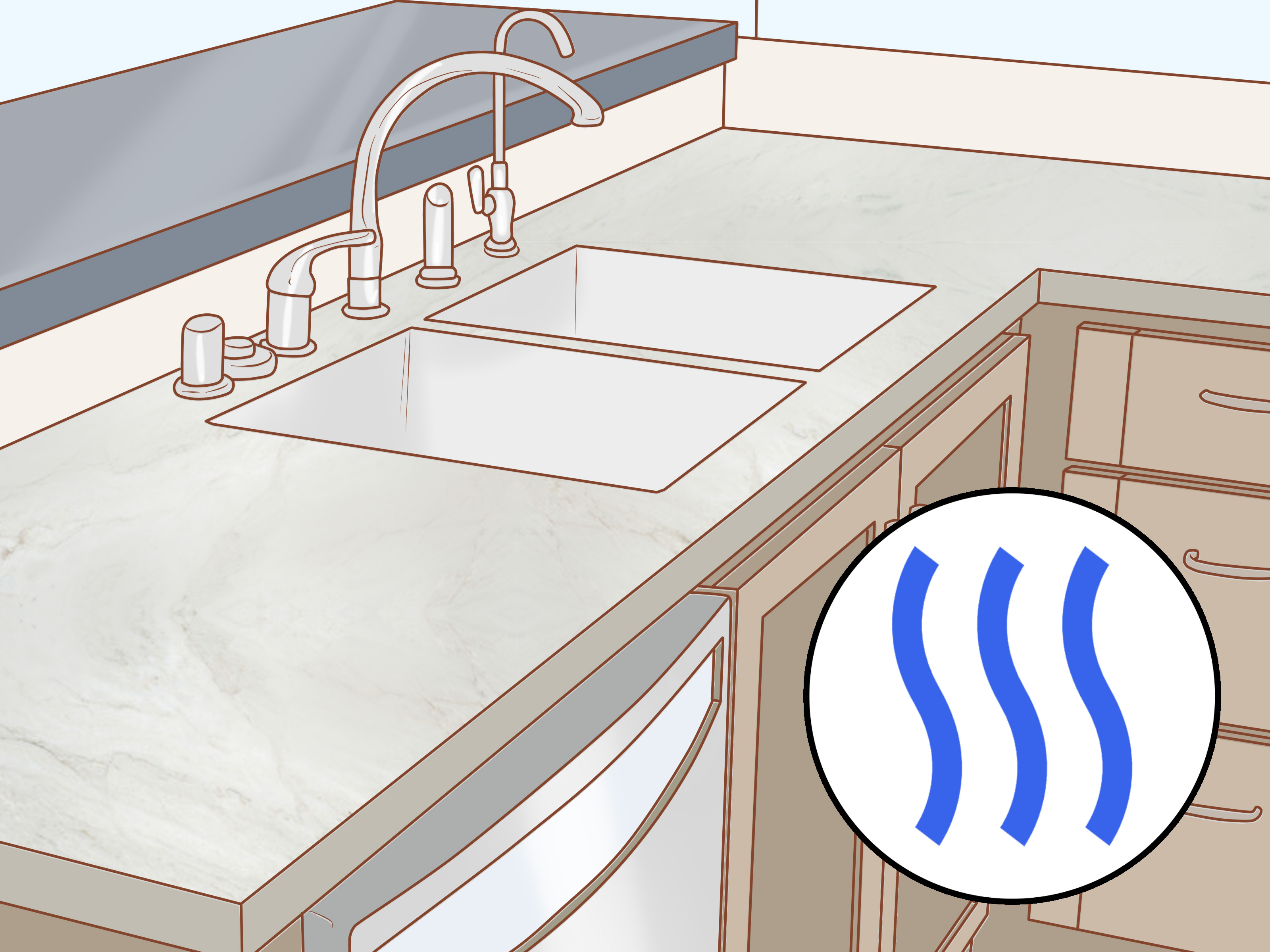 Polishing Corian Countertops How To Polish A Concrete Countertop With Pictures Wikihow