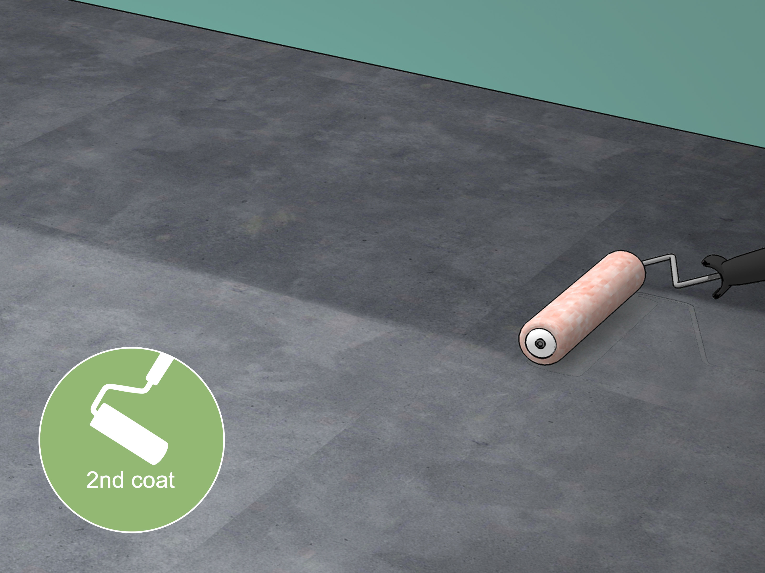 Garage Floor Sealer B&q How To Seal Concrete Floors With Pictures Wikihow