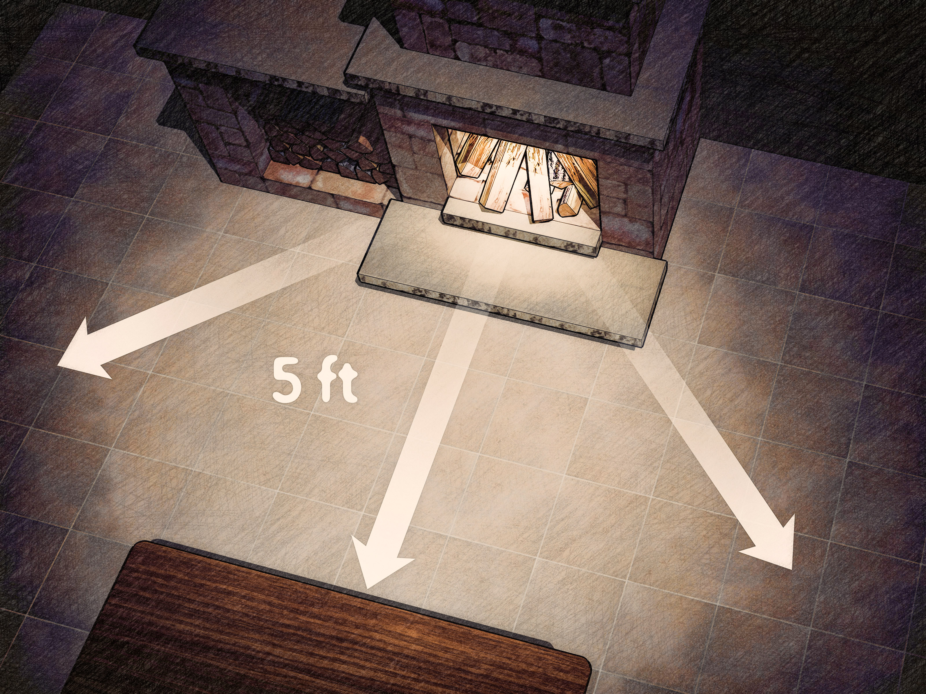 How To Operate A Fireplace 3 Ways To Use A Fireplace Safely Wikihow