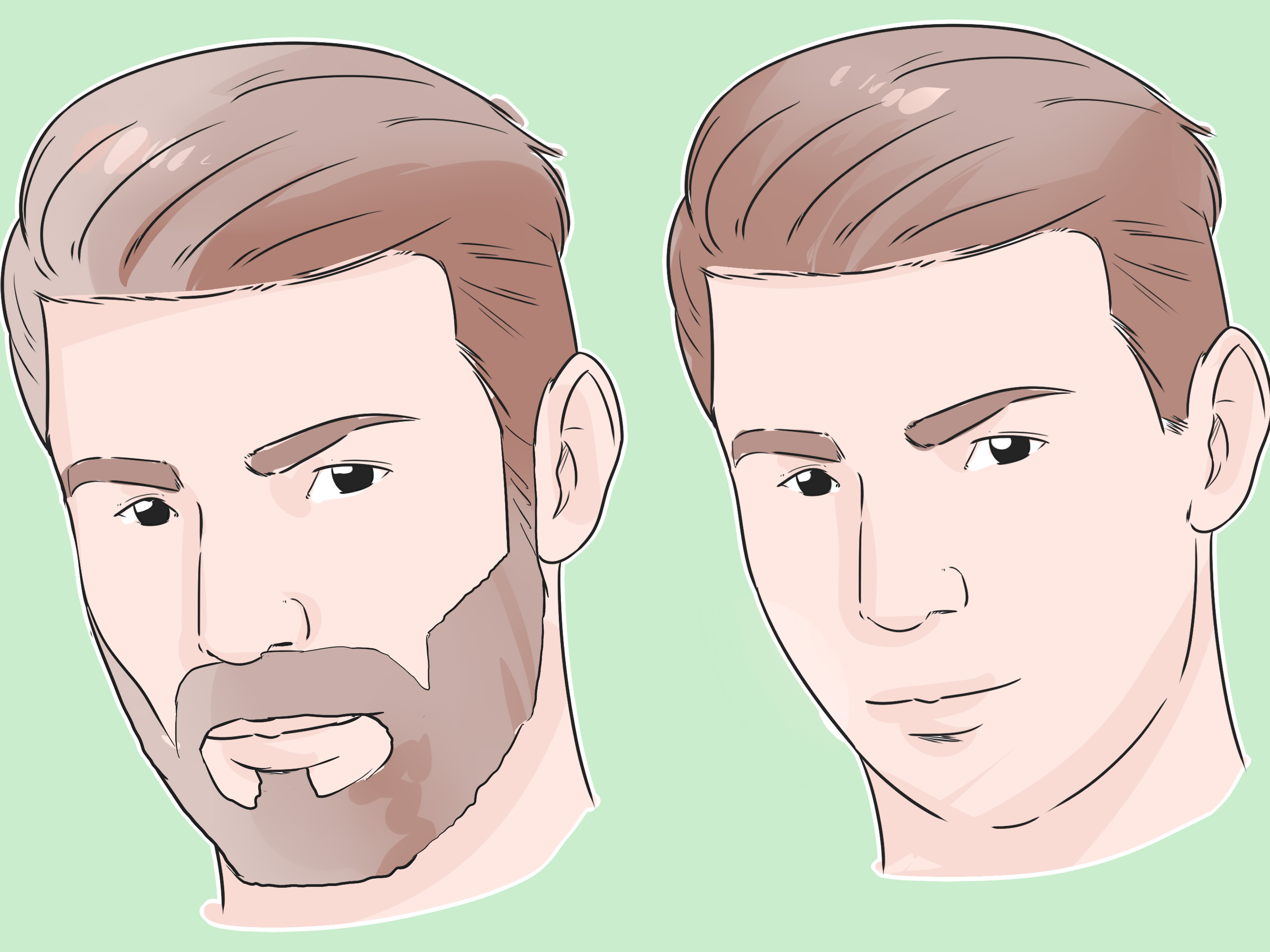 Sidecut Mann How To Do Undercut Hair For Men With Pictures Wikihow