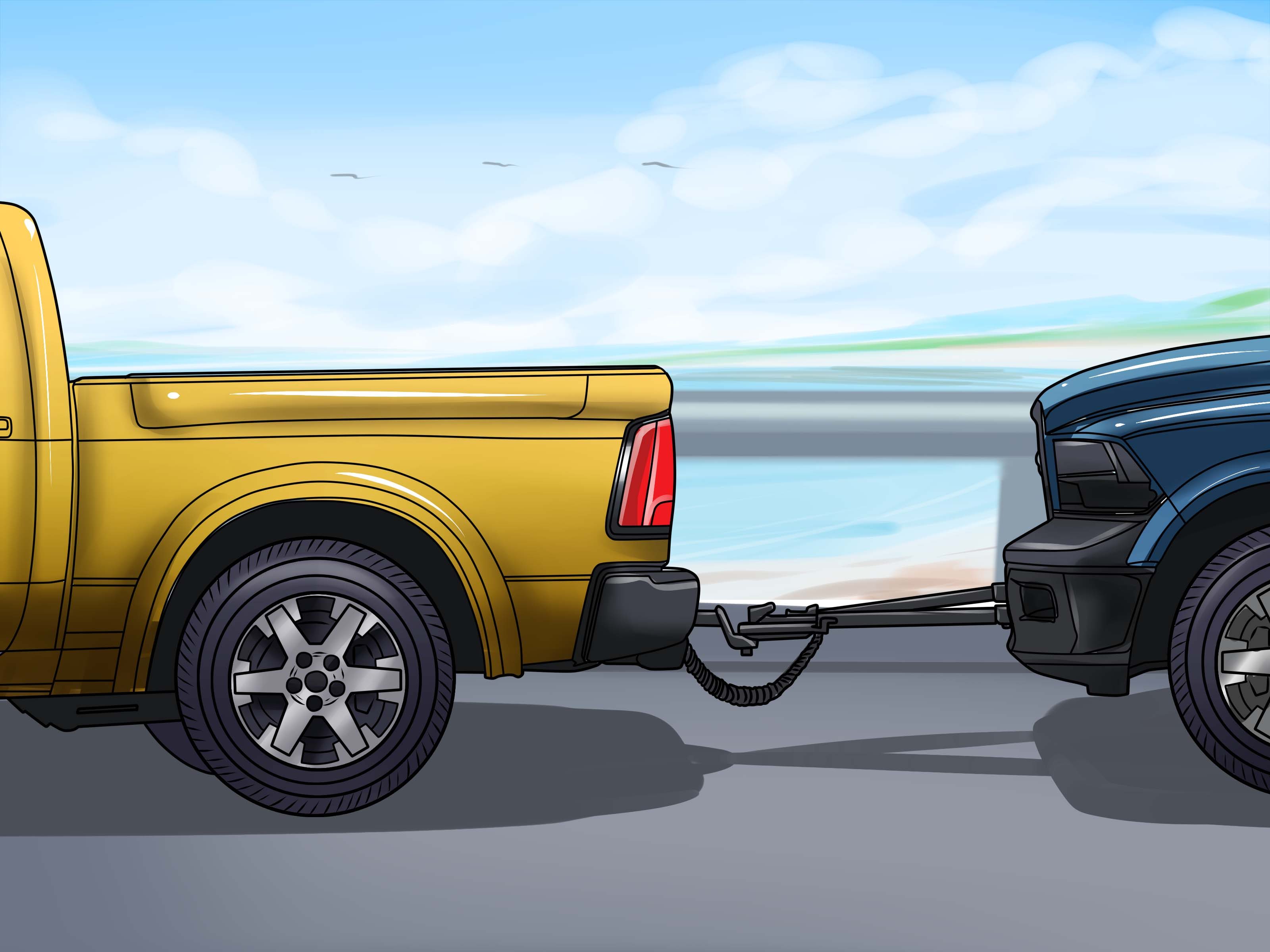 Towing Car How To Fit A Tow Bar To Your Car: 13 Steps (with Pictures)