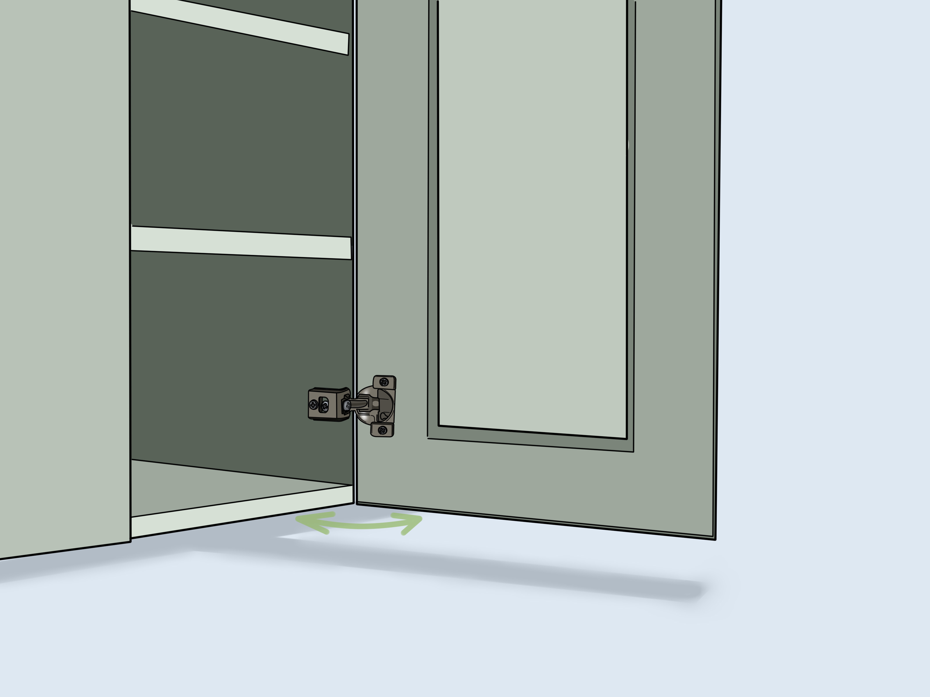 How To Adjust Soft Close Hinges 7 Steps With Pictures Wikihow