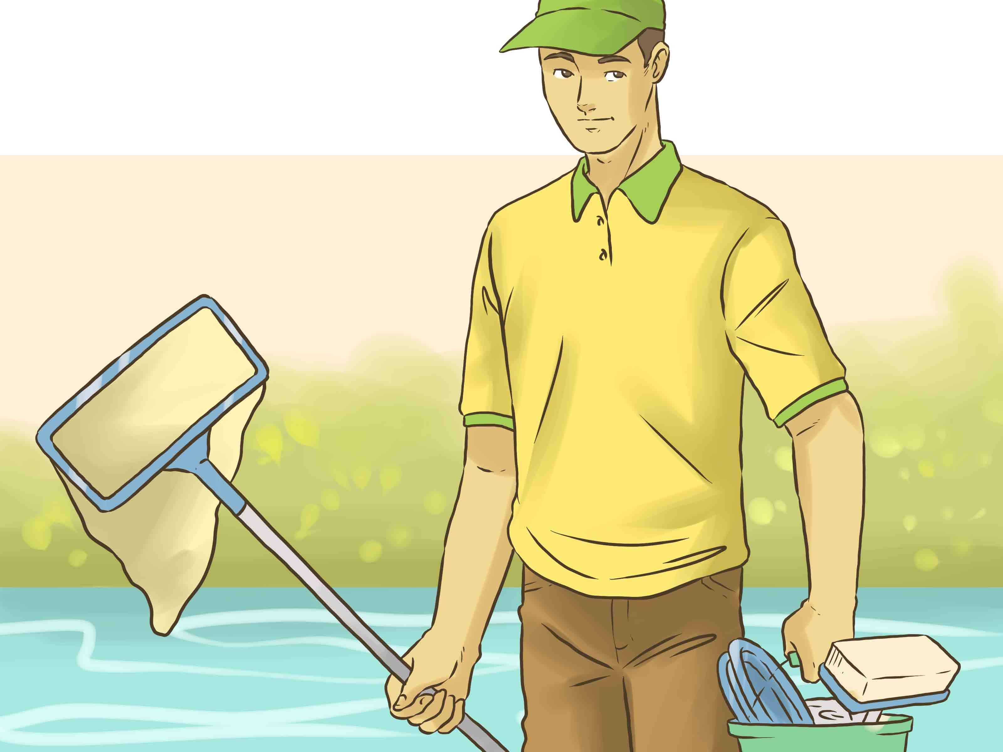 Pool Reinigen Tricks The Easiest Way To Clean Your Own Pool Wikihow