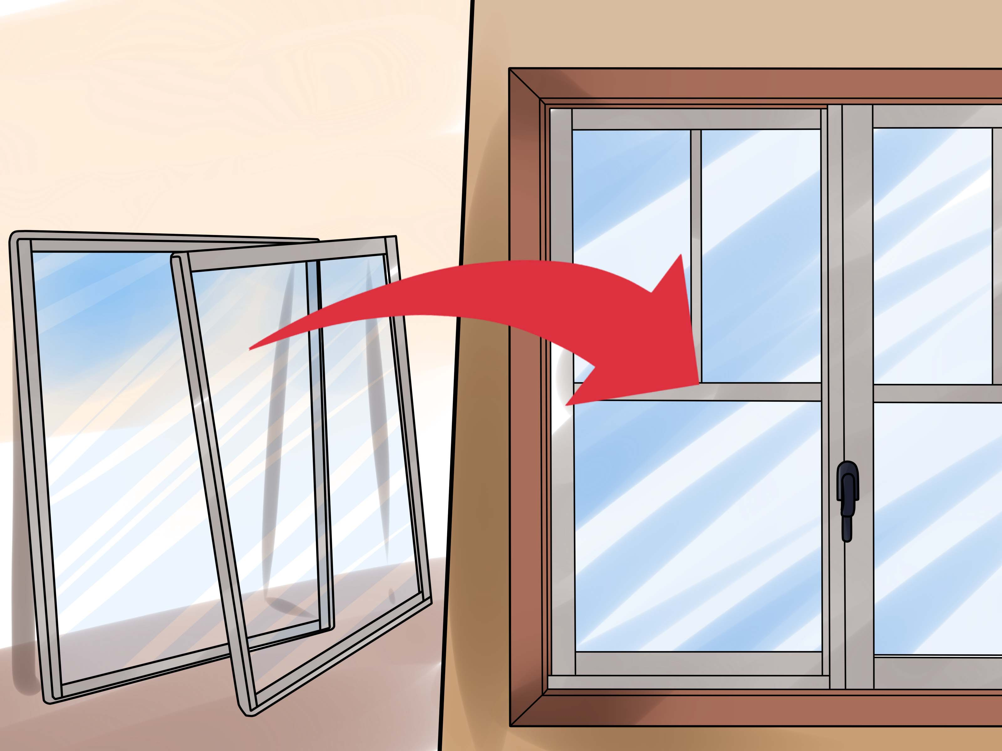 How To Insulate Windows How To Insulate Windows 15 Steps With Pictures Wikihow
