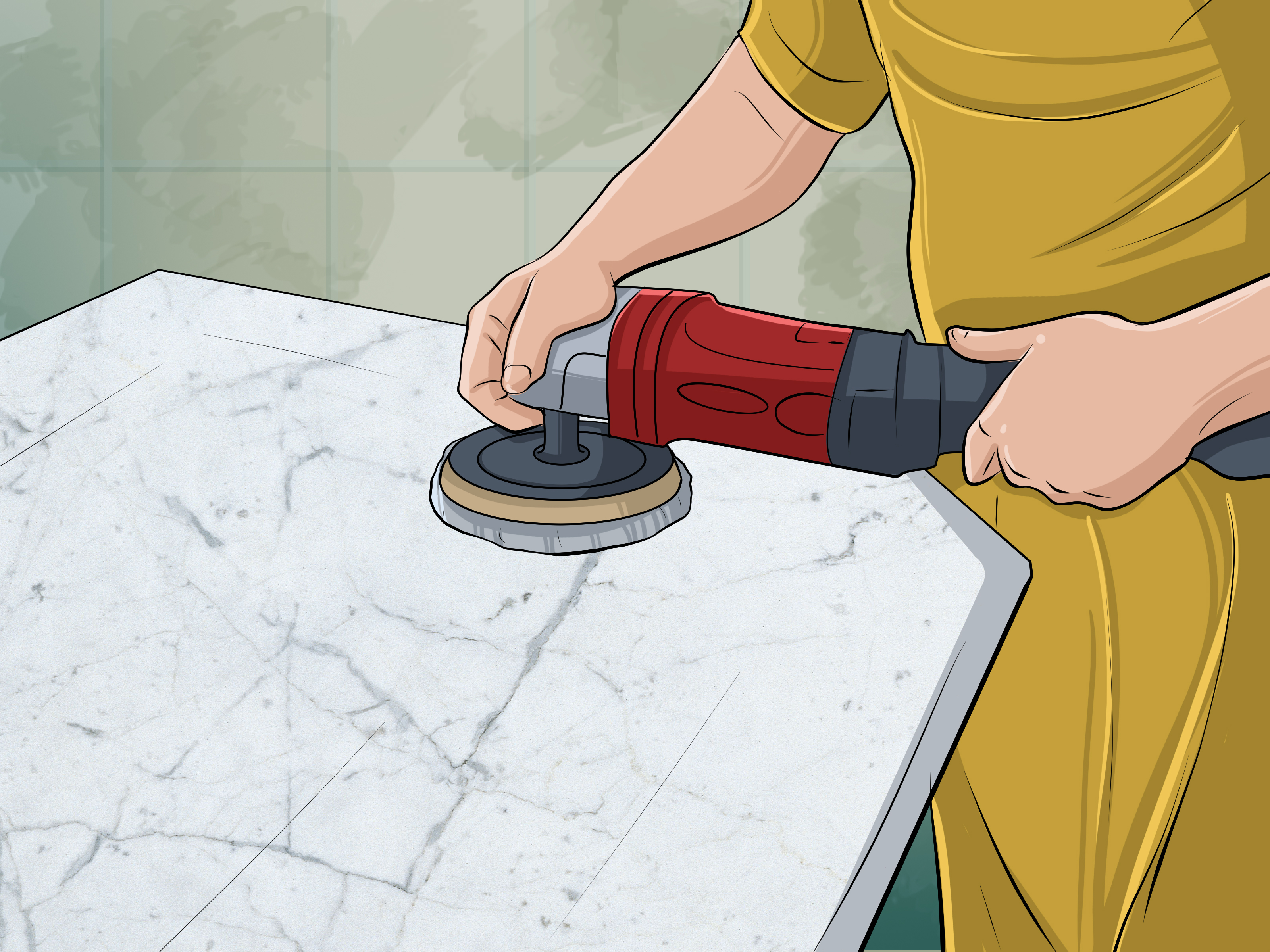 Best Way To Clean Granite Countertops 3 Ways To Clean Cultured Marble Wikihow