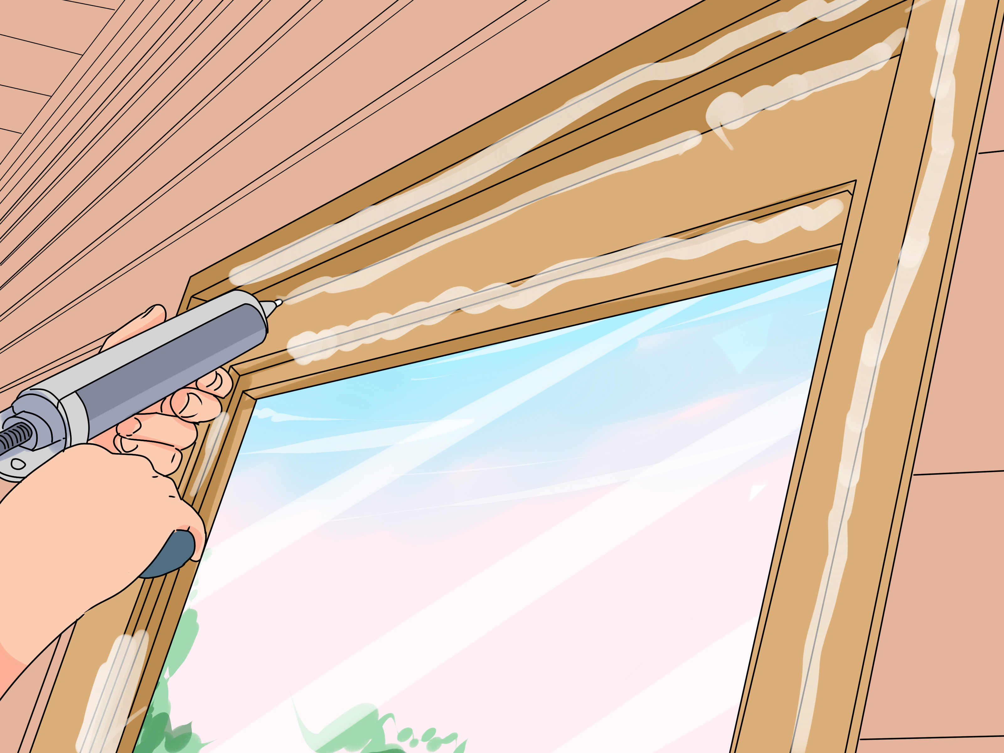 Siliconenkit Action How To Replace A Window With Pictures Wikihow