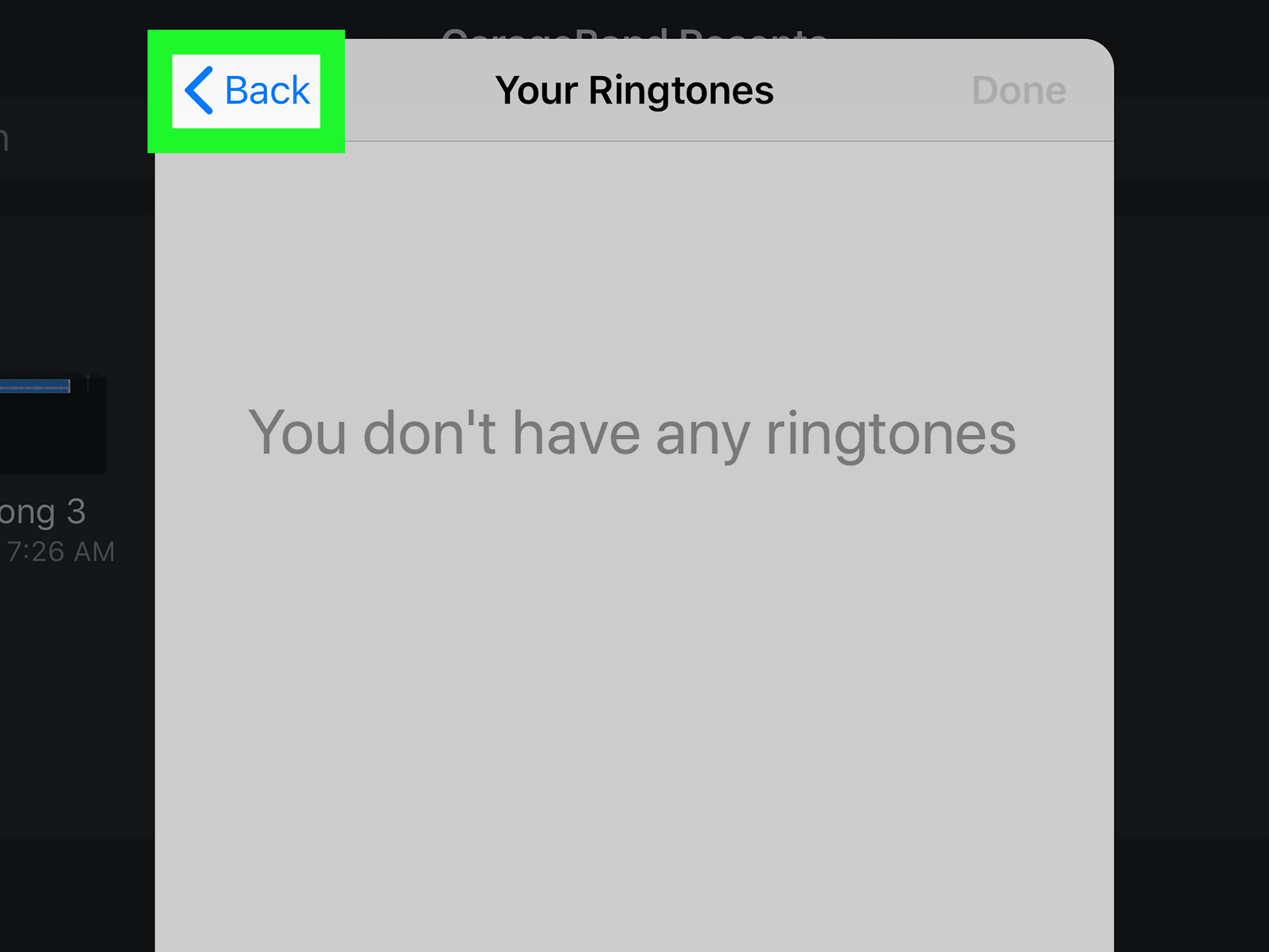Fan Garageband How To Delete A Ringtone Made By Garageband 5 Steps