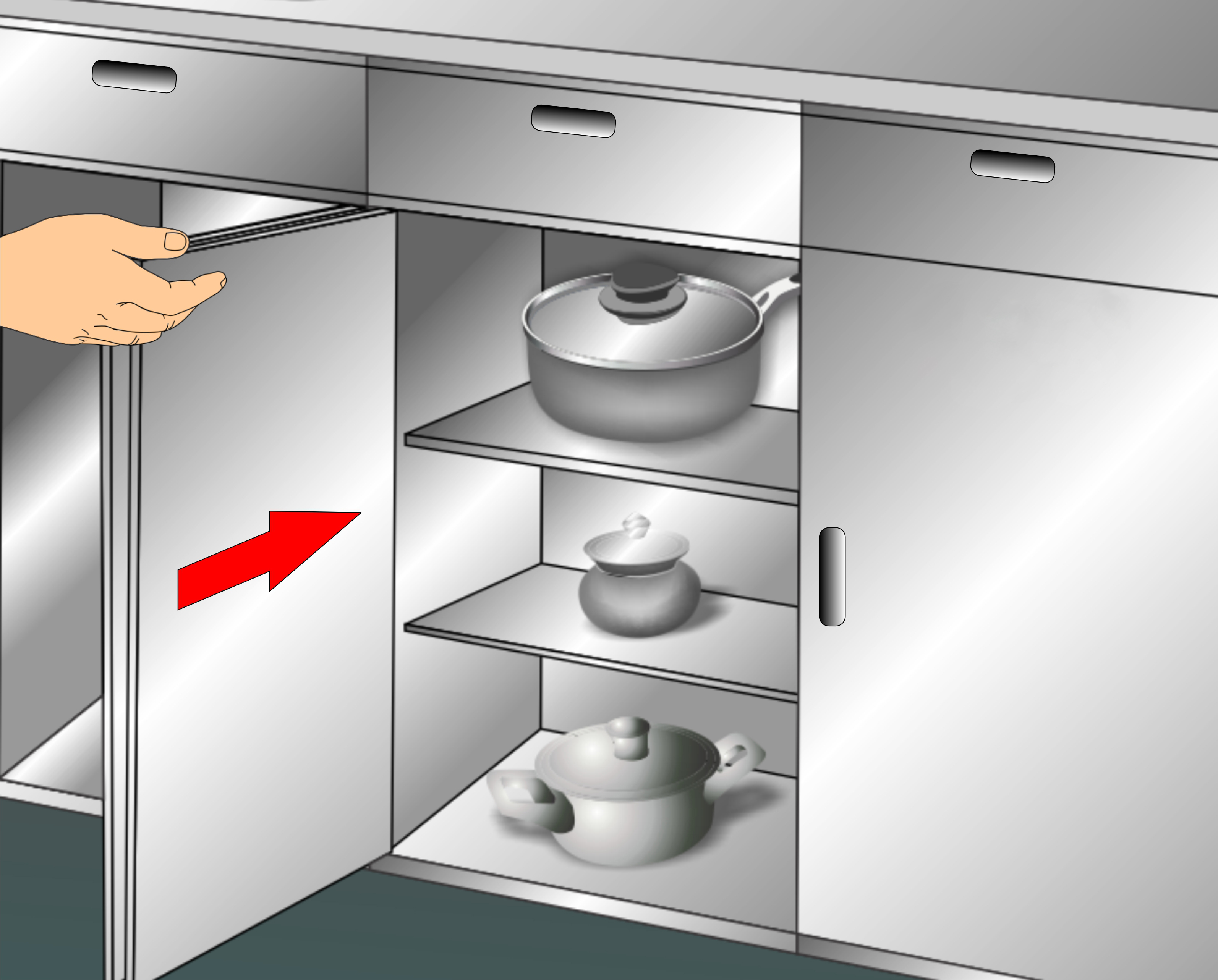 What To Clean Grease Off Kitchen Cabinets 3 Ways To Clean Kitchen Cabinets Wikihow