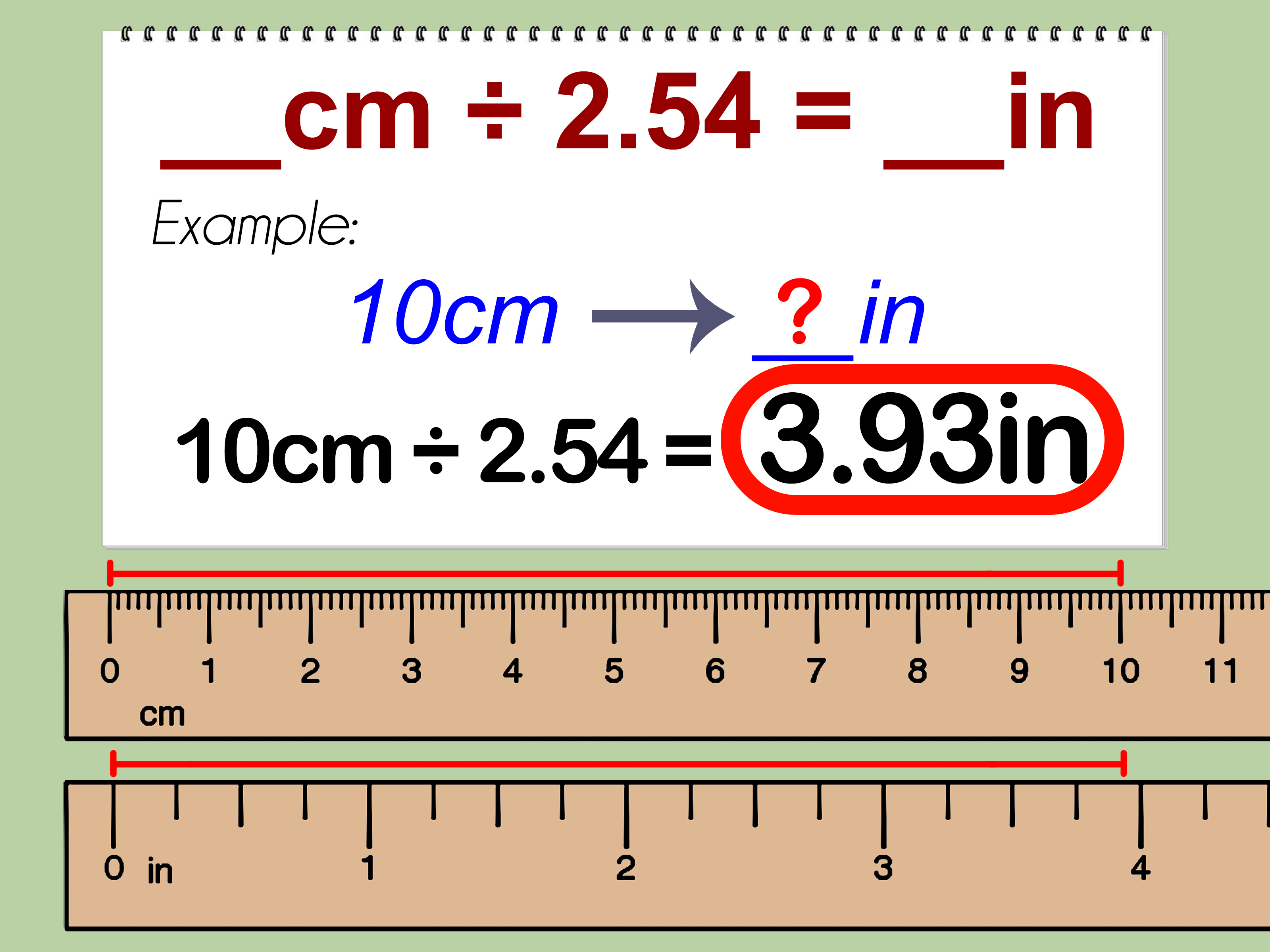 10 In Cm How To Convert Centimeters To Inches With Unit Converter