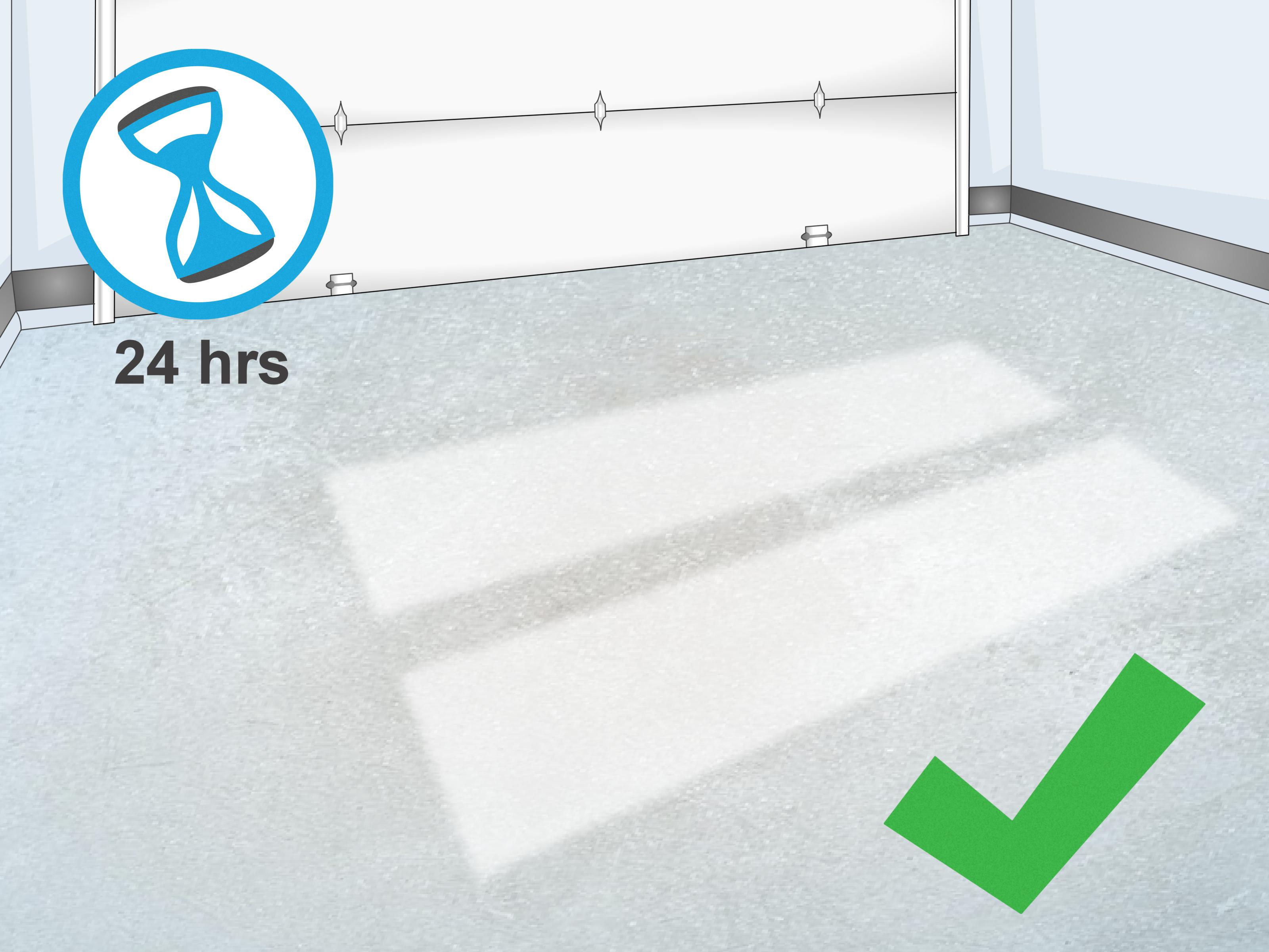 Garage Floor Epoxy Steps How To Do Epoxy Flooring With Pictures Wikihow