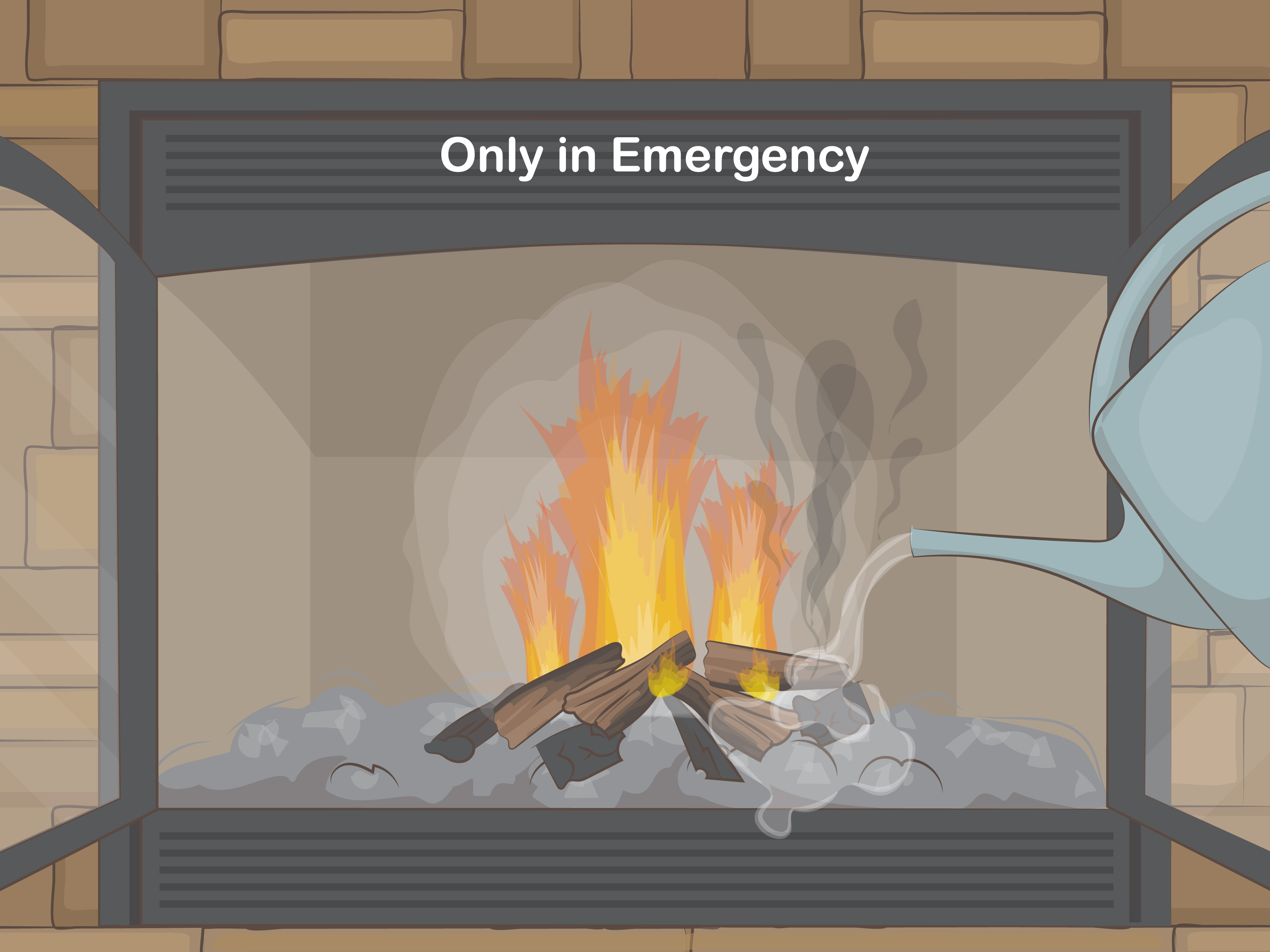 Color Fire Kaminofen 4 Ways To Clean A Fireplace Wikihow