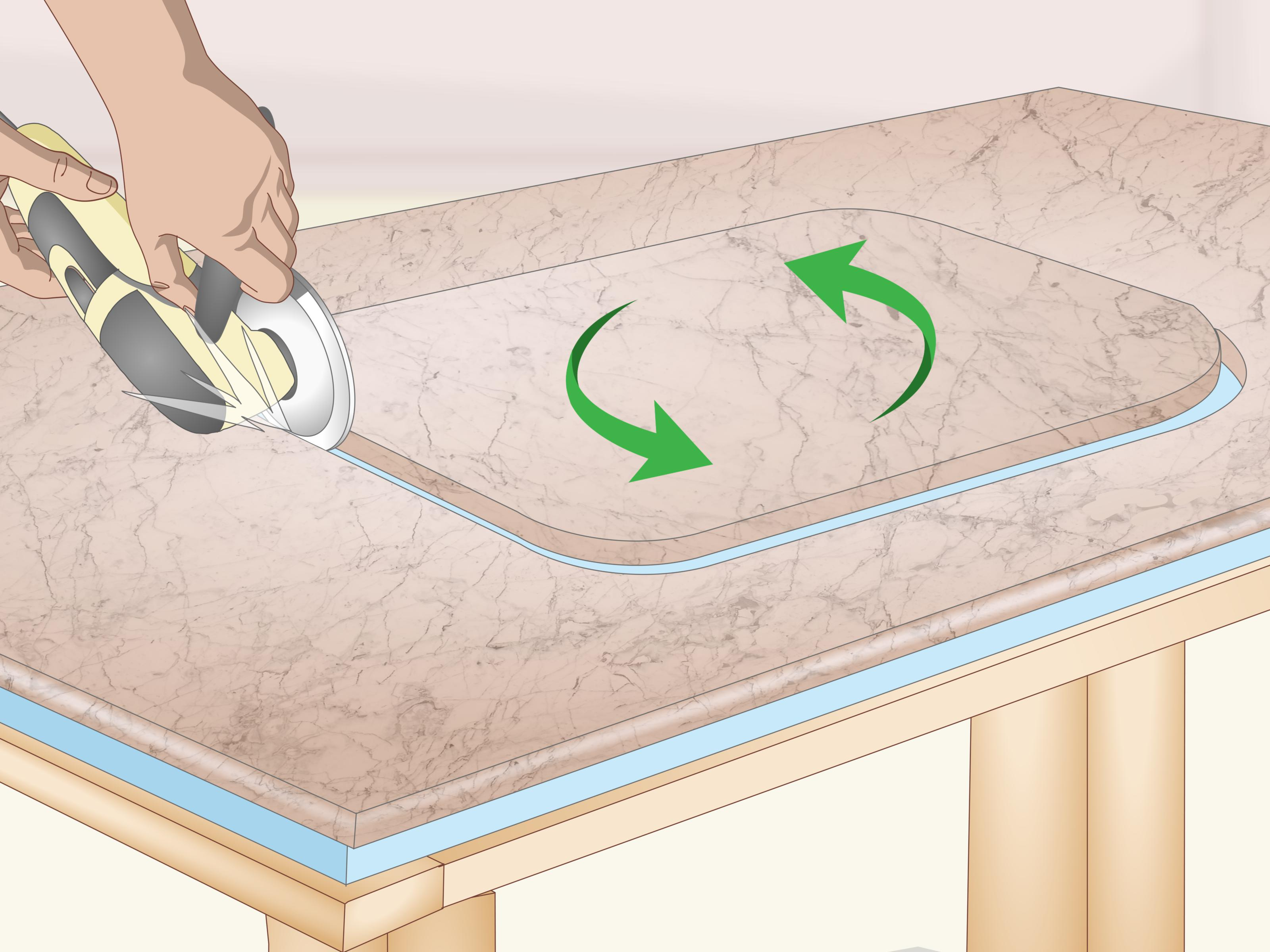 How To Cut Countertops With Pictures Wikihow