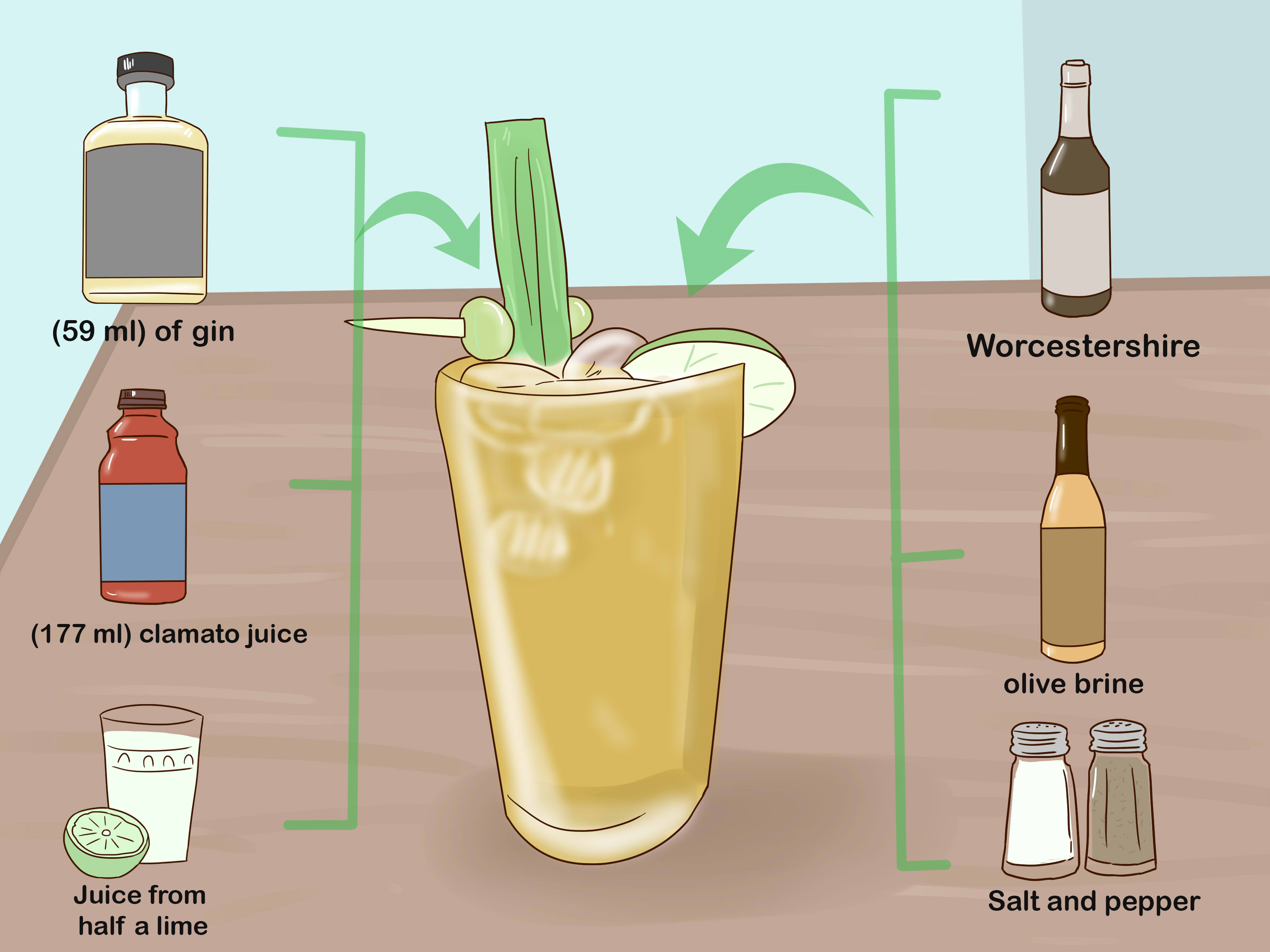 Drink Gin 4 Ways To Drink Gin Wikihow