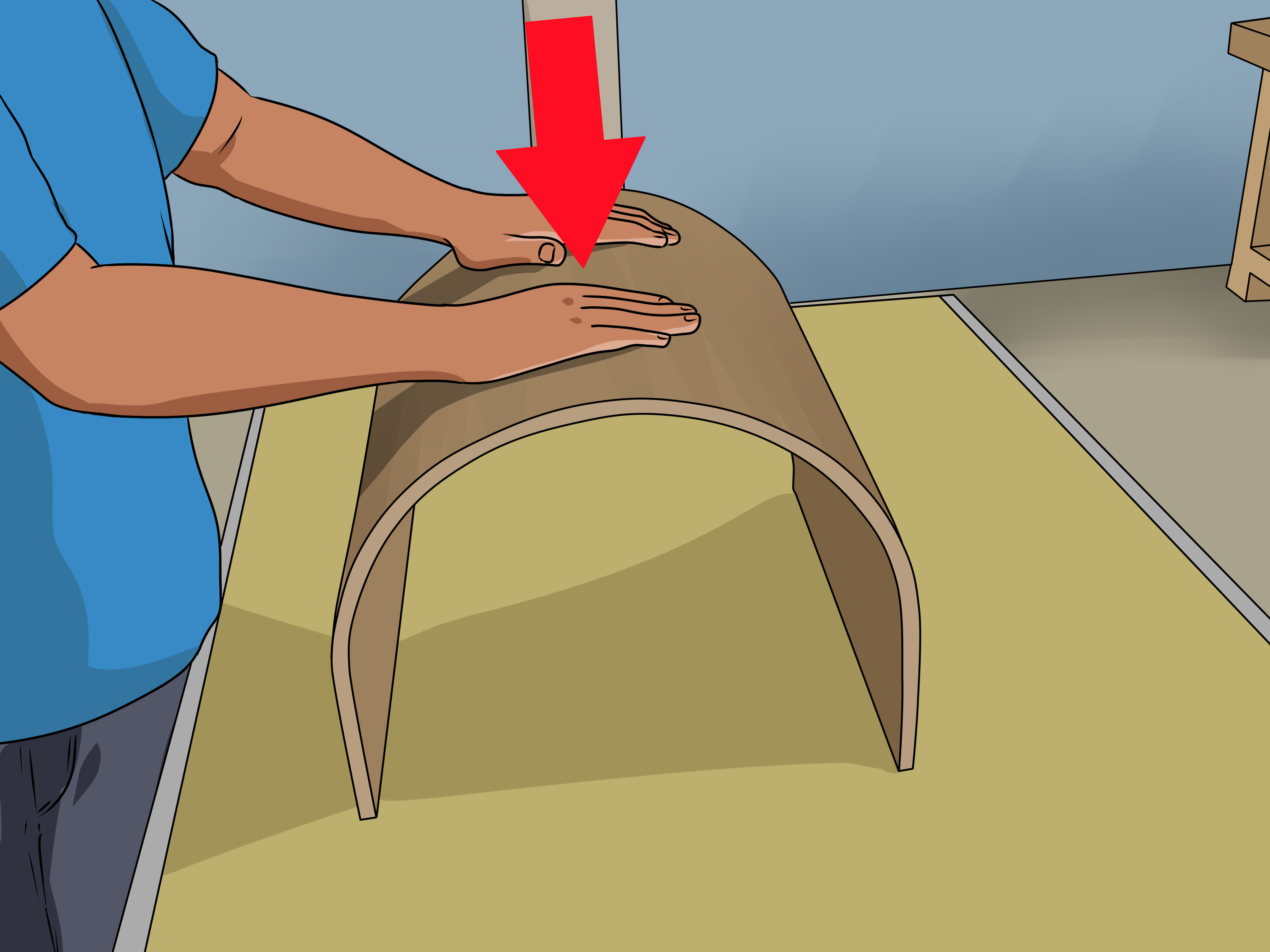 Half Inch Plywood How To Bend Plywood 10 Steps With Pictures Wikihow